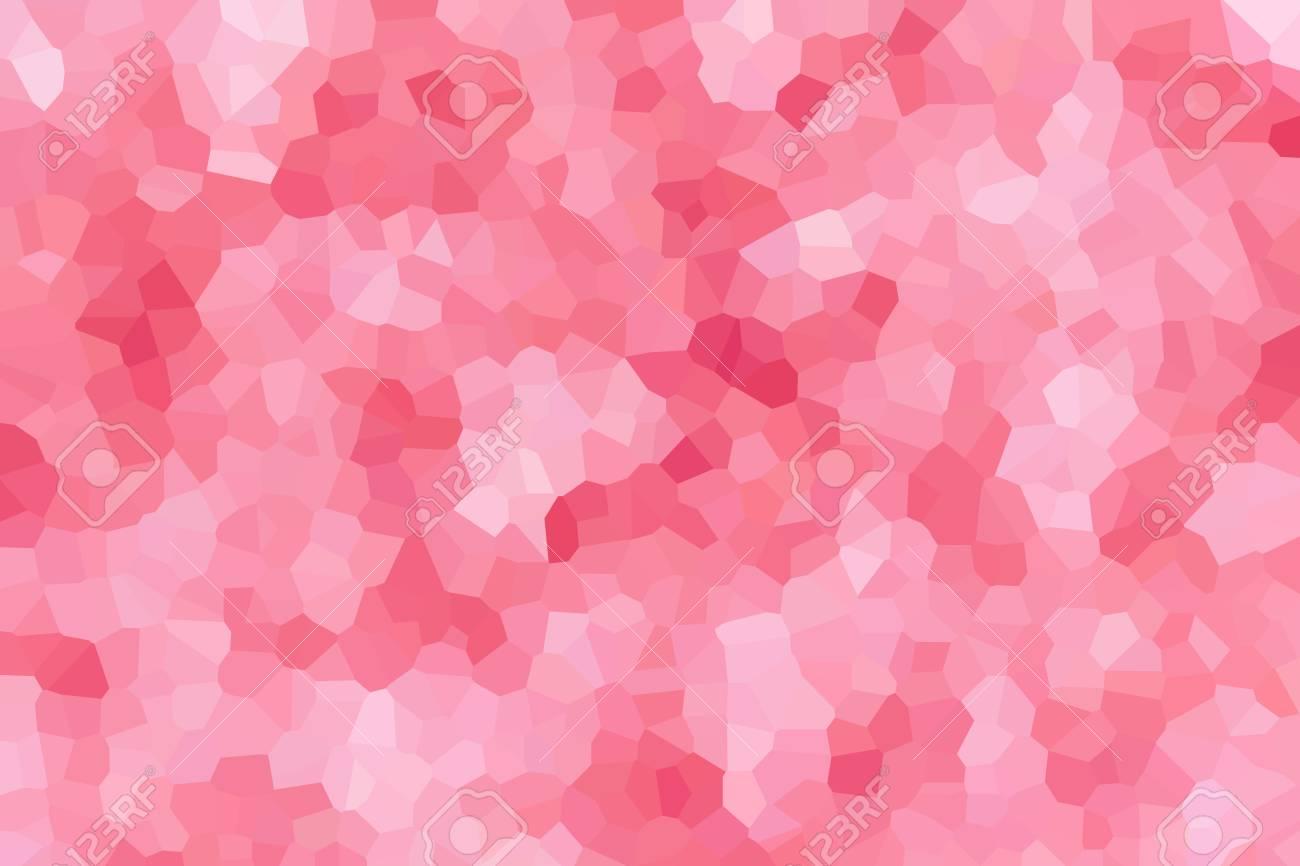 Cristallizzare Sfondo Astratto In Tonalità Di Colore Rosa Pastello