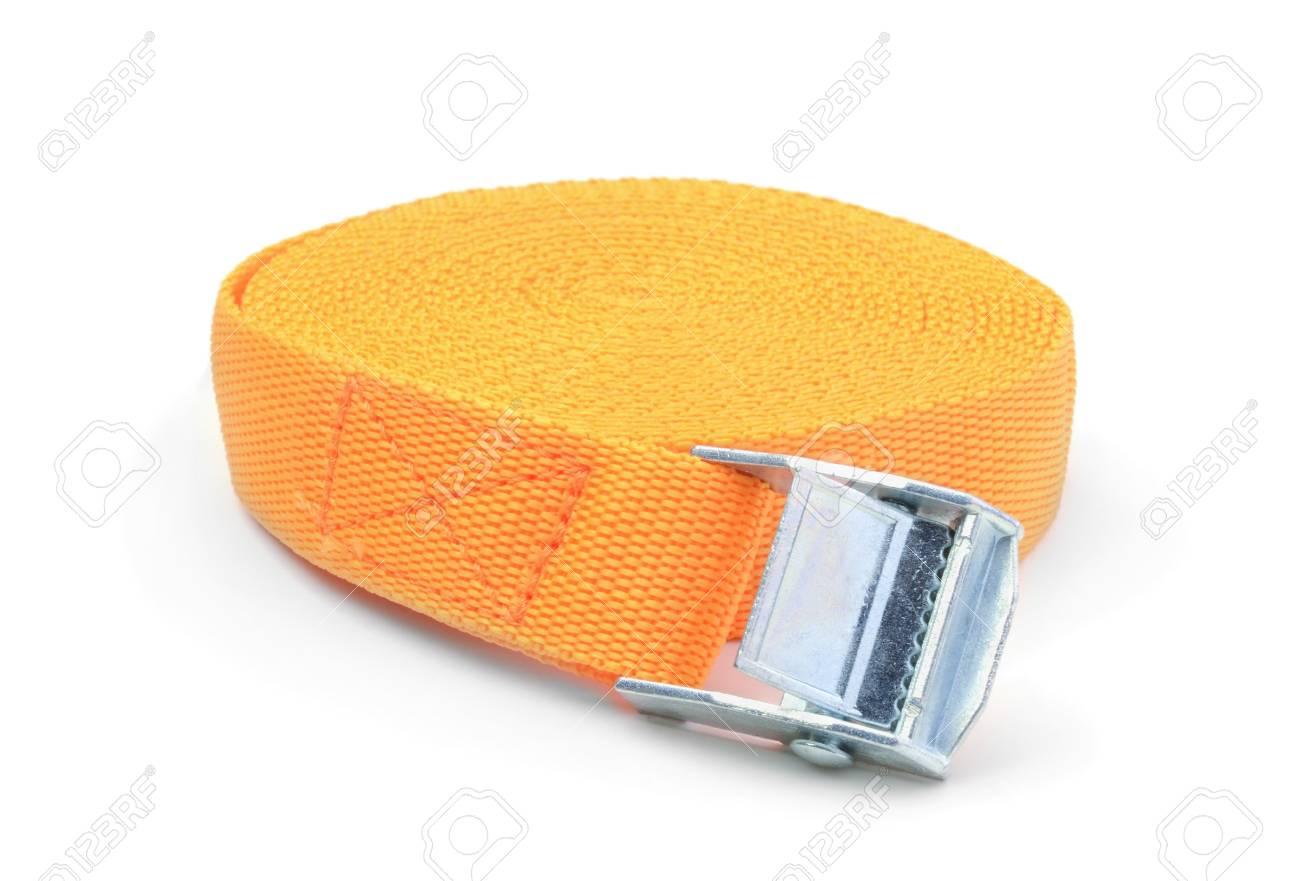Ratchet strap isolated on white background - 98861616