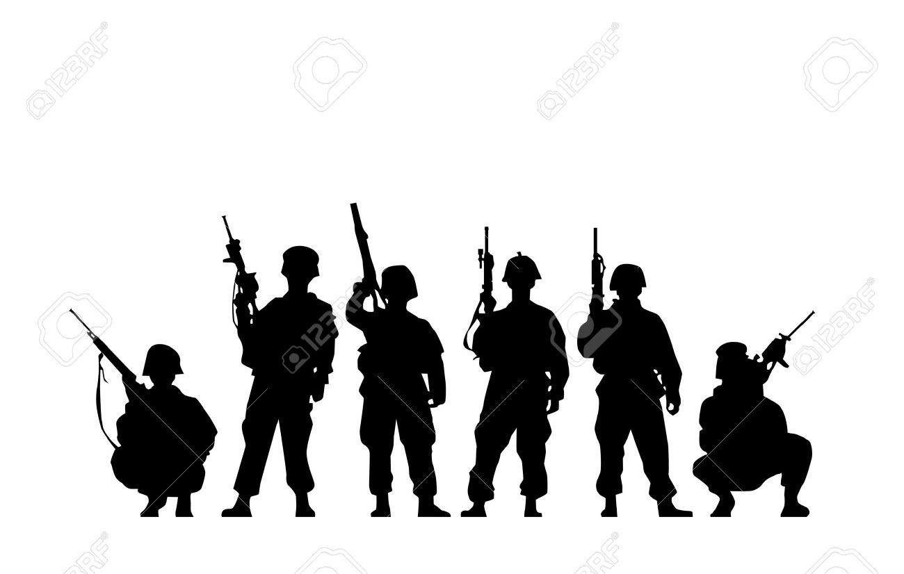 Soldier Silhouette - 10795070