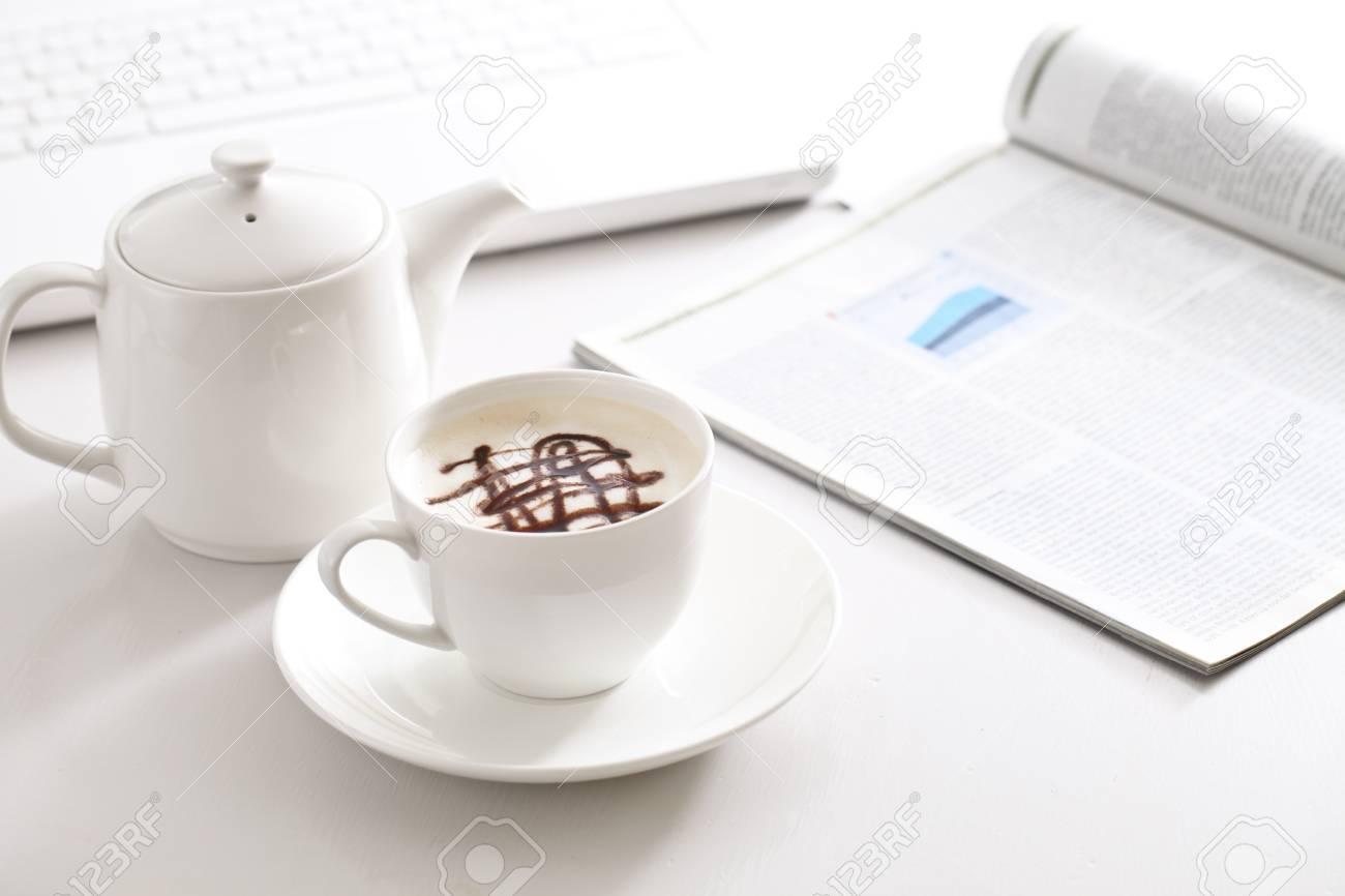 hot coffee Stock Photo - 12563454