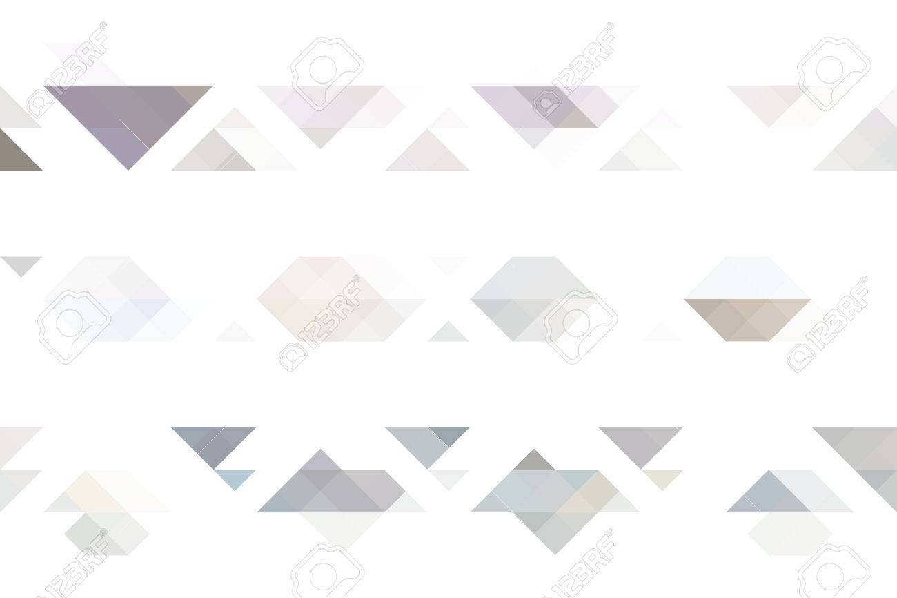 Colorful Geometric Background Warm And Neutral Colors Royalty