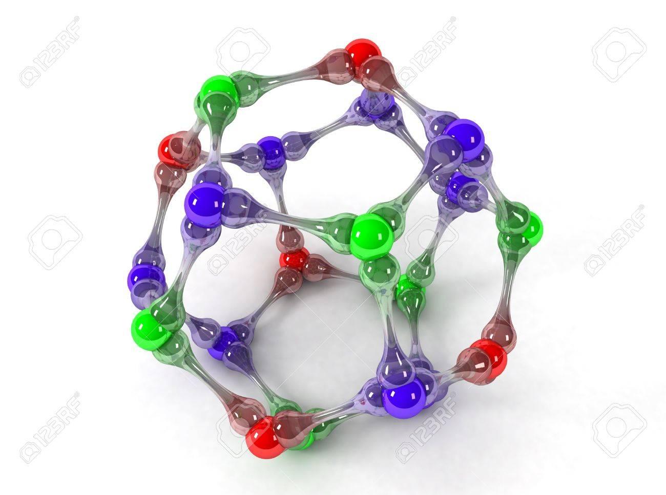 Molecule Stock Photo - 5183814