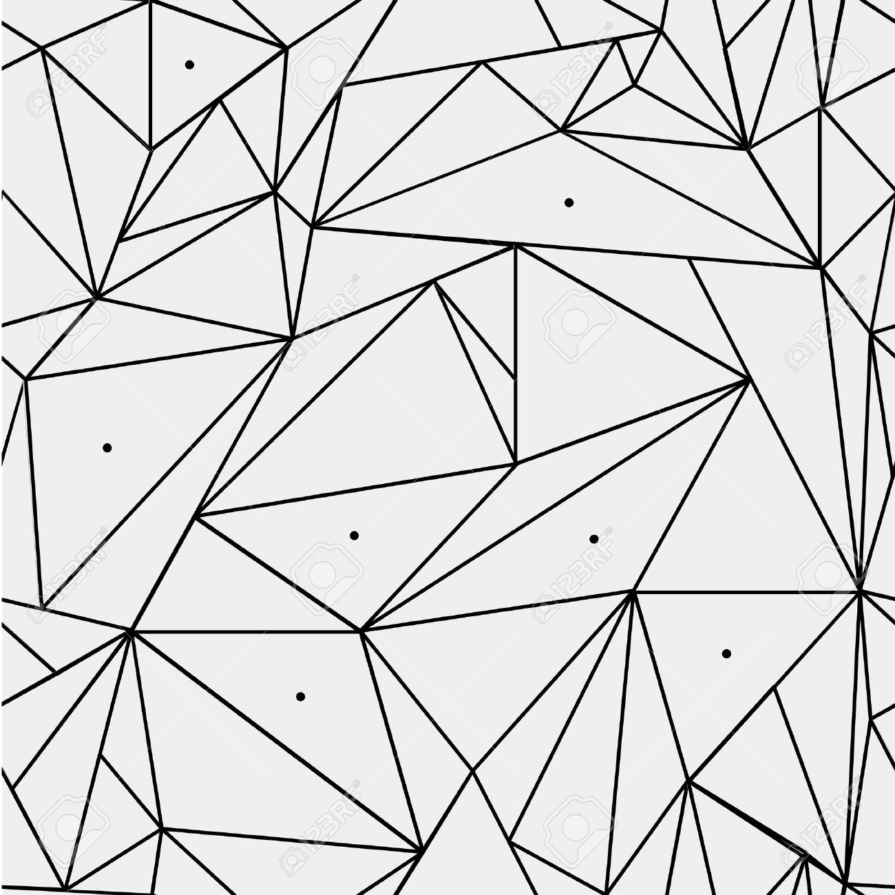 Geometric simple black and white minimalistic pattern triangles geometric simple black and white minimalistic pattern triangles or stained glass window can thecheapjerseys Image collections