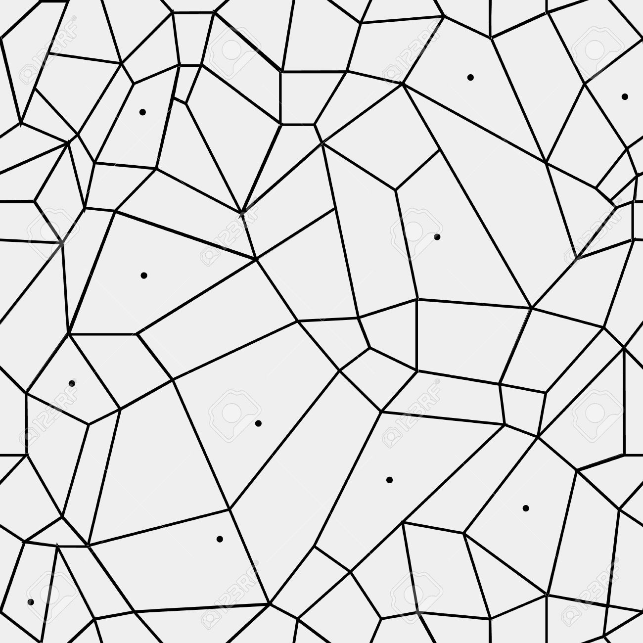 Geometric Simple Black And White Minimalistic Pattern, Rectangles ... for Window Clipart Black And White  111ane