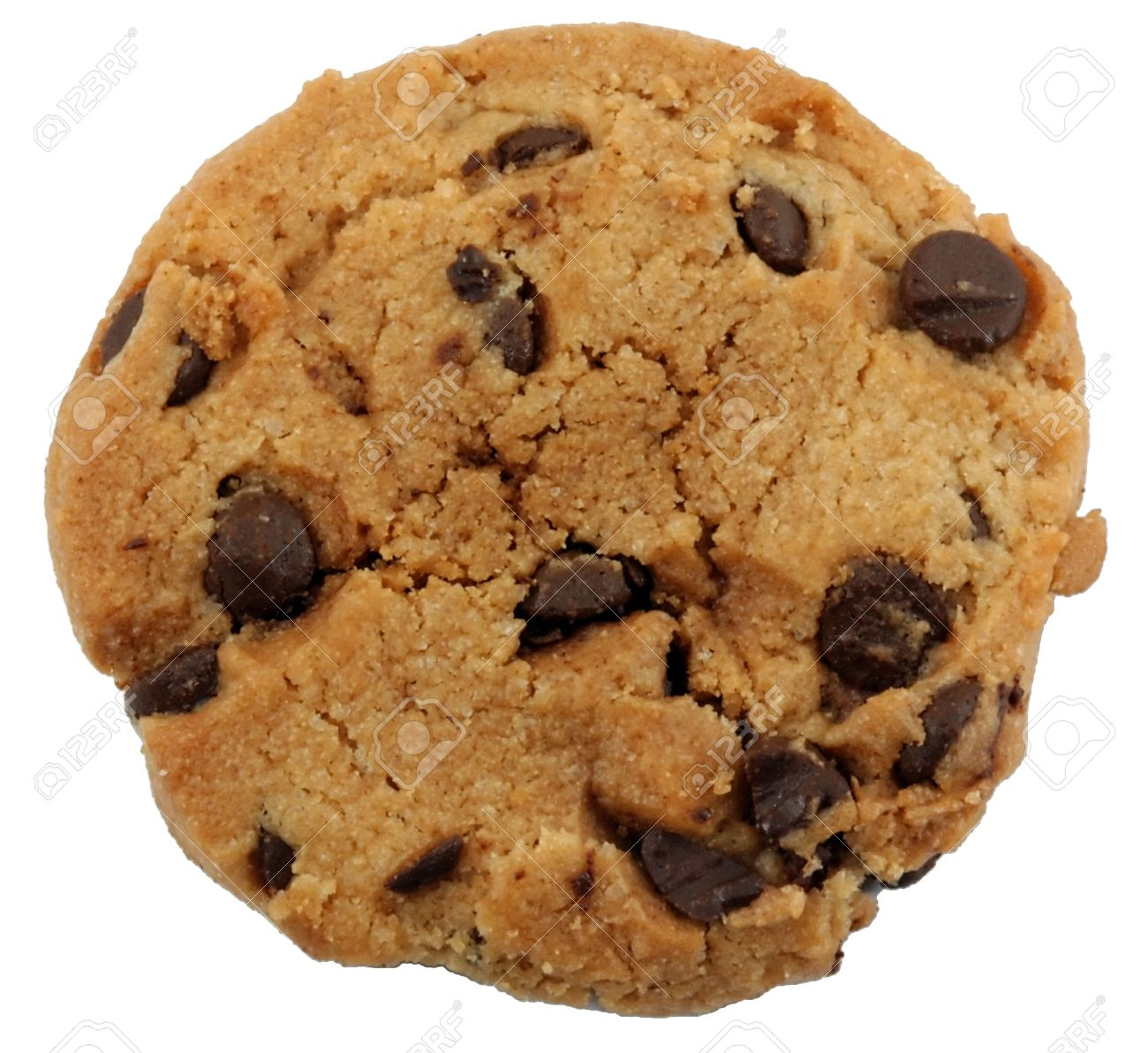 Chocolate Chip Cookie Stock Photo, Picture And Royalty Free Image ...