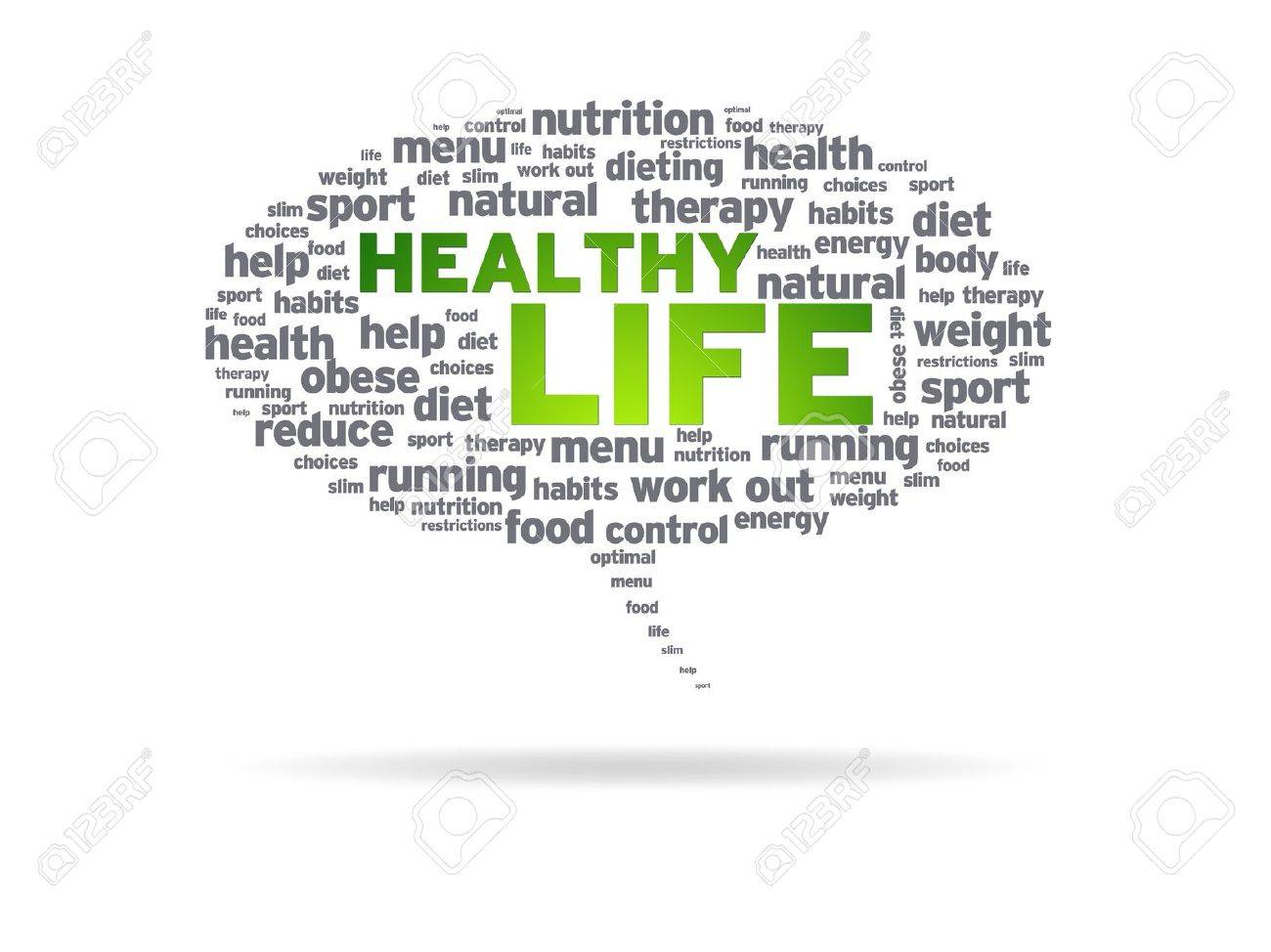 speech on healthy lifestyle 200 words