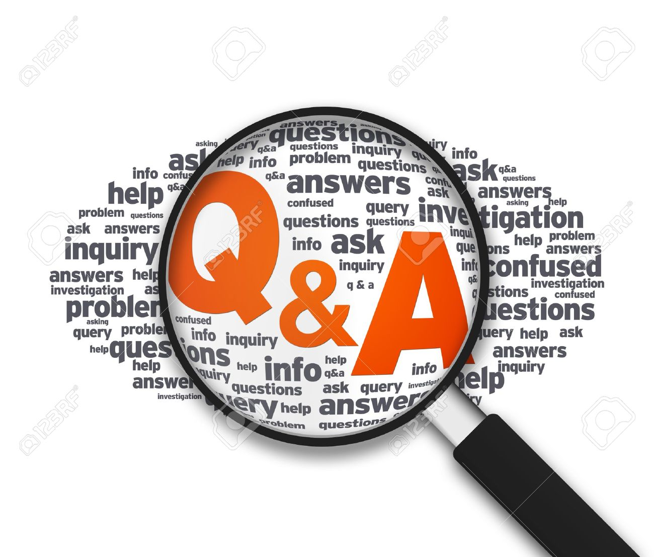 qa images stock pictures royalty qa photos and stock qa magnified illustration the words q a on white background