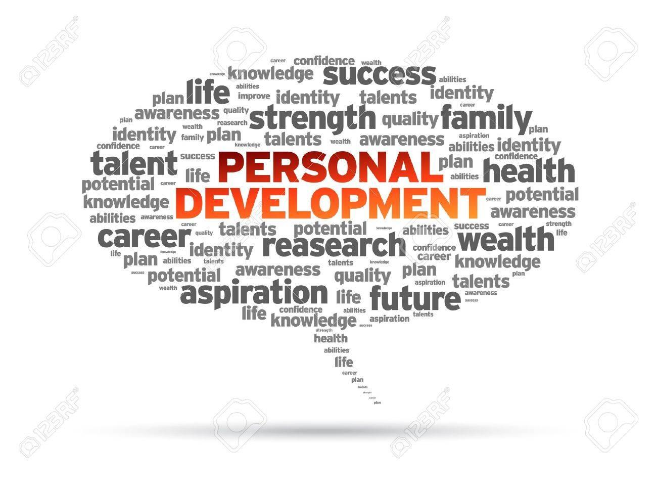 personal development word speech bubble on white background personal development word speech bubble on white background stock vector 14768859