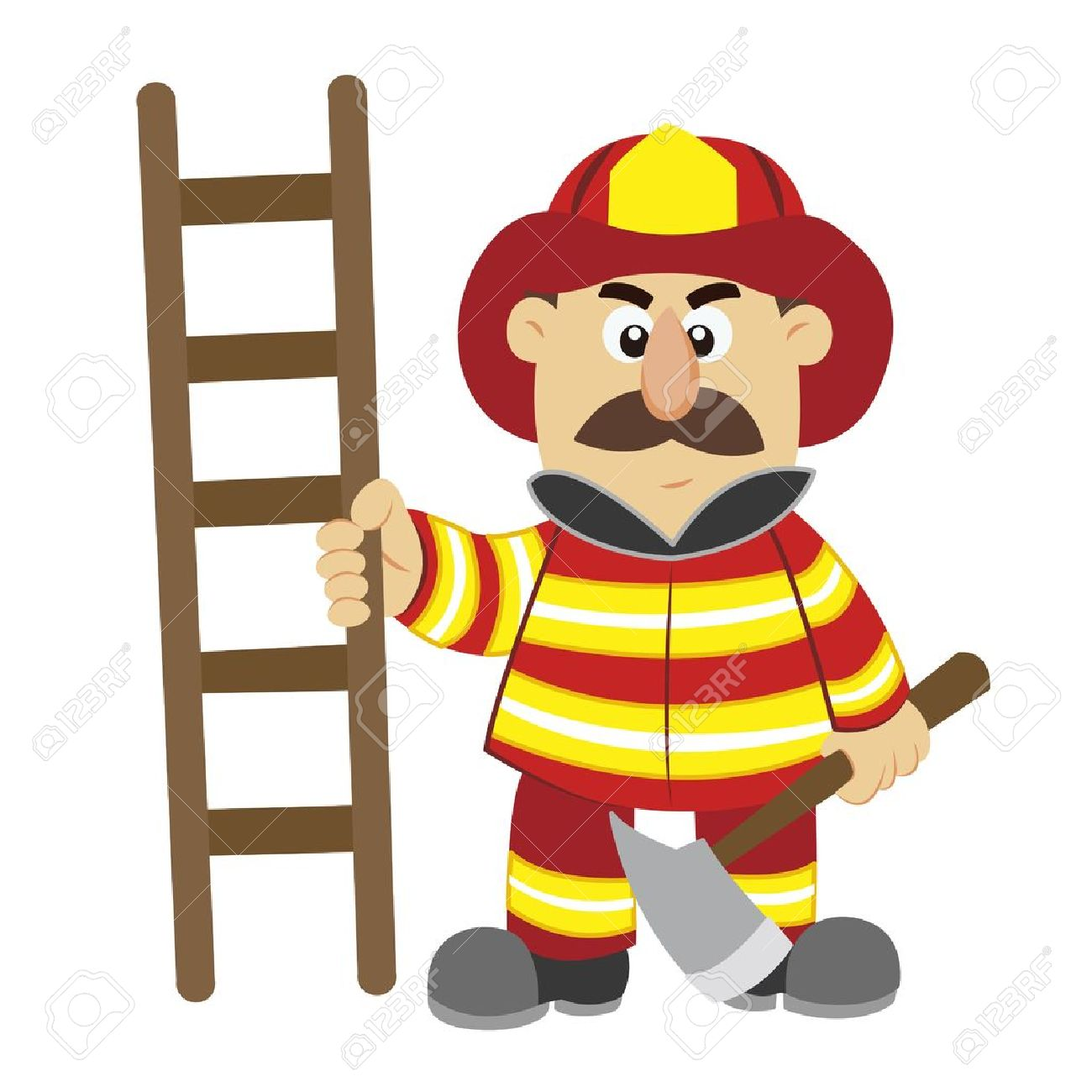 12,735 Firefighter Stock Vector Illustration And Royalty Free ...