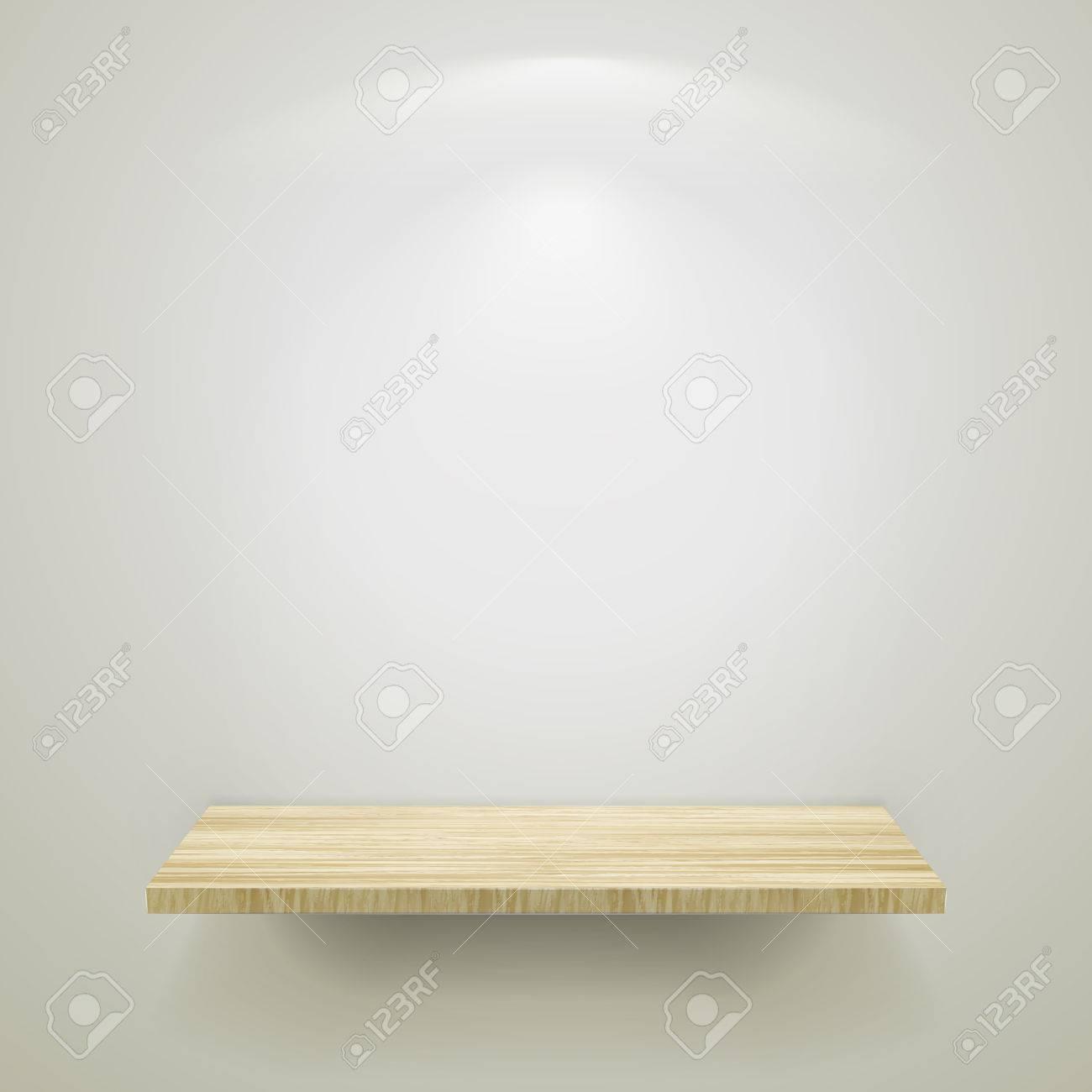 bois lumière exposition pour d'une Vide une douce en étagère J3Fcl51uTK