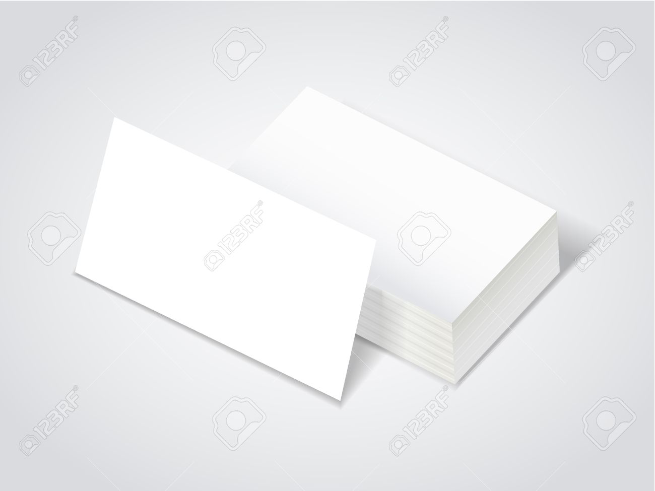 Stack of blank business card over white royalty free cliparts stack of blank business card over white stock vector 31763587 reheart Images