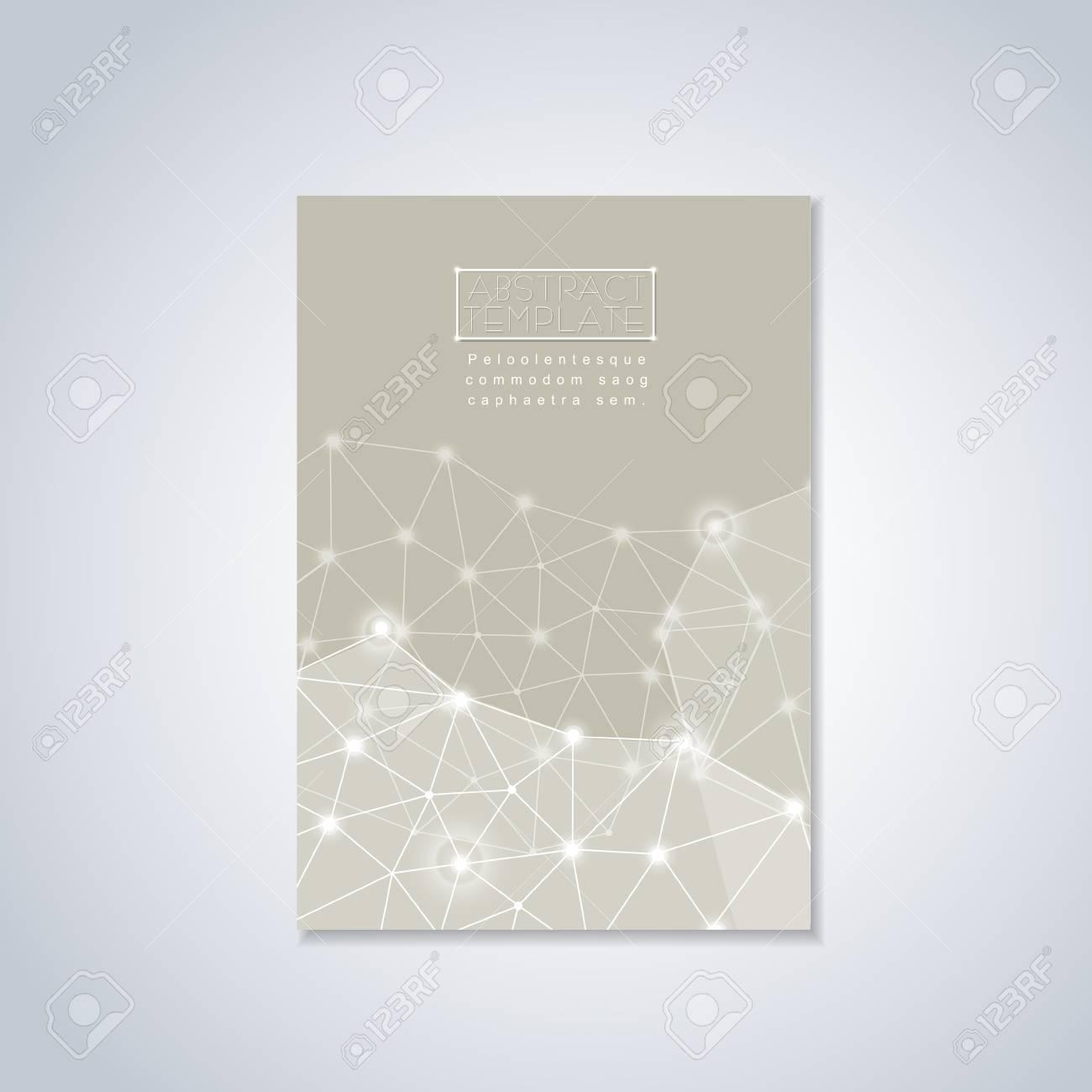 Diseño De Fondo Geométrico Suave Para La Plantilla Del Cartel ...