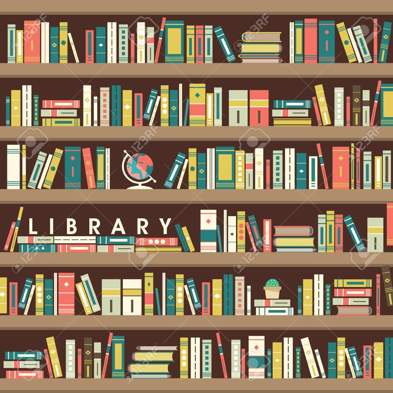 Bibliothèque Illustration De La Scène Dans Le Style De Design Plat Clip Art  Libres De Droits , Vecteurs Et Illustration. Image 35380761.