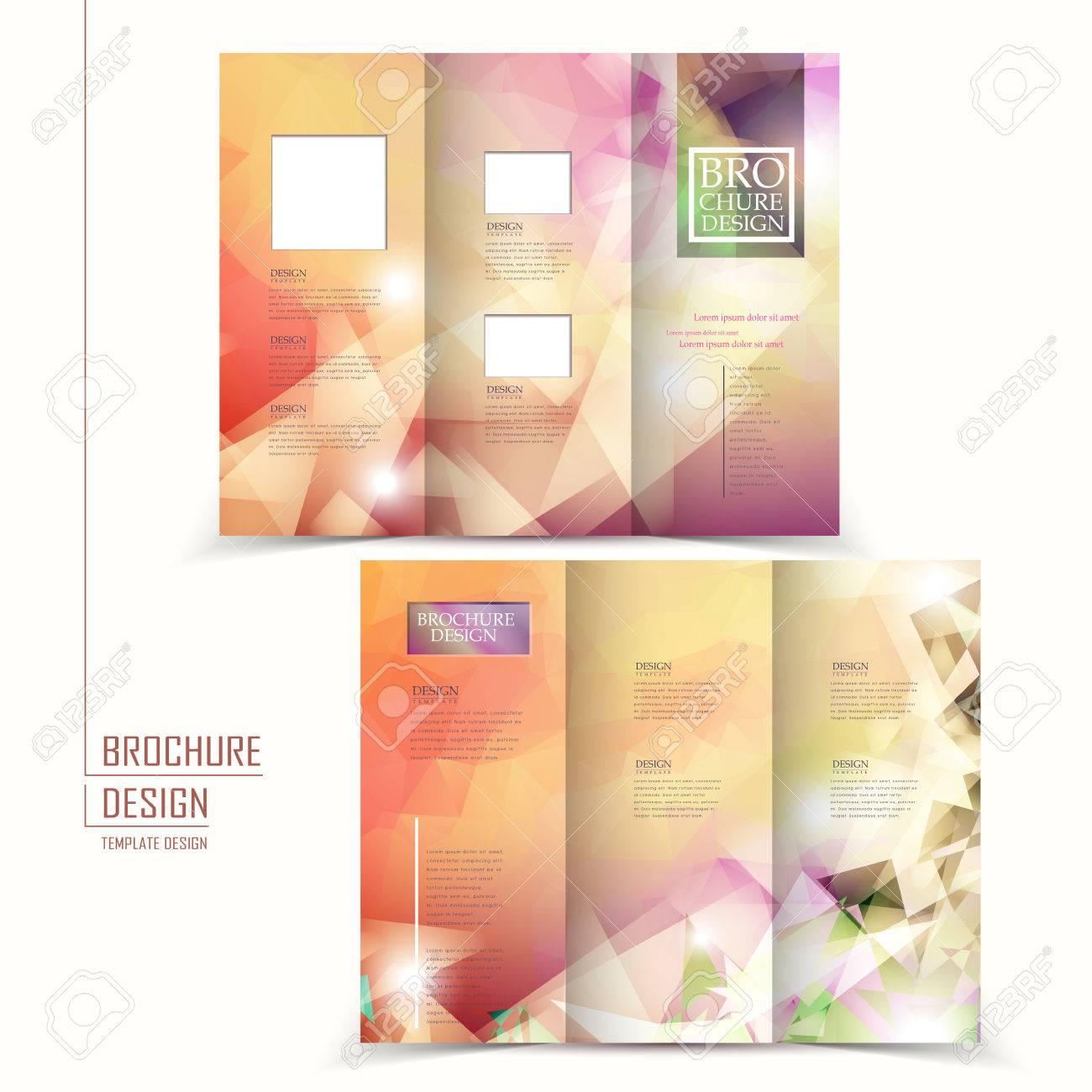 Tri Fold Elegant Brochure Design Pictures Picturesboss