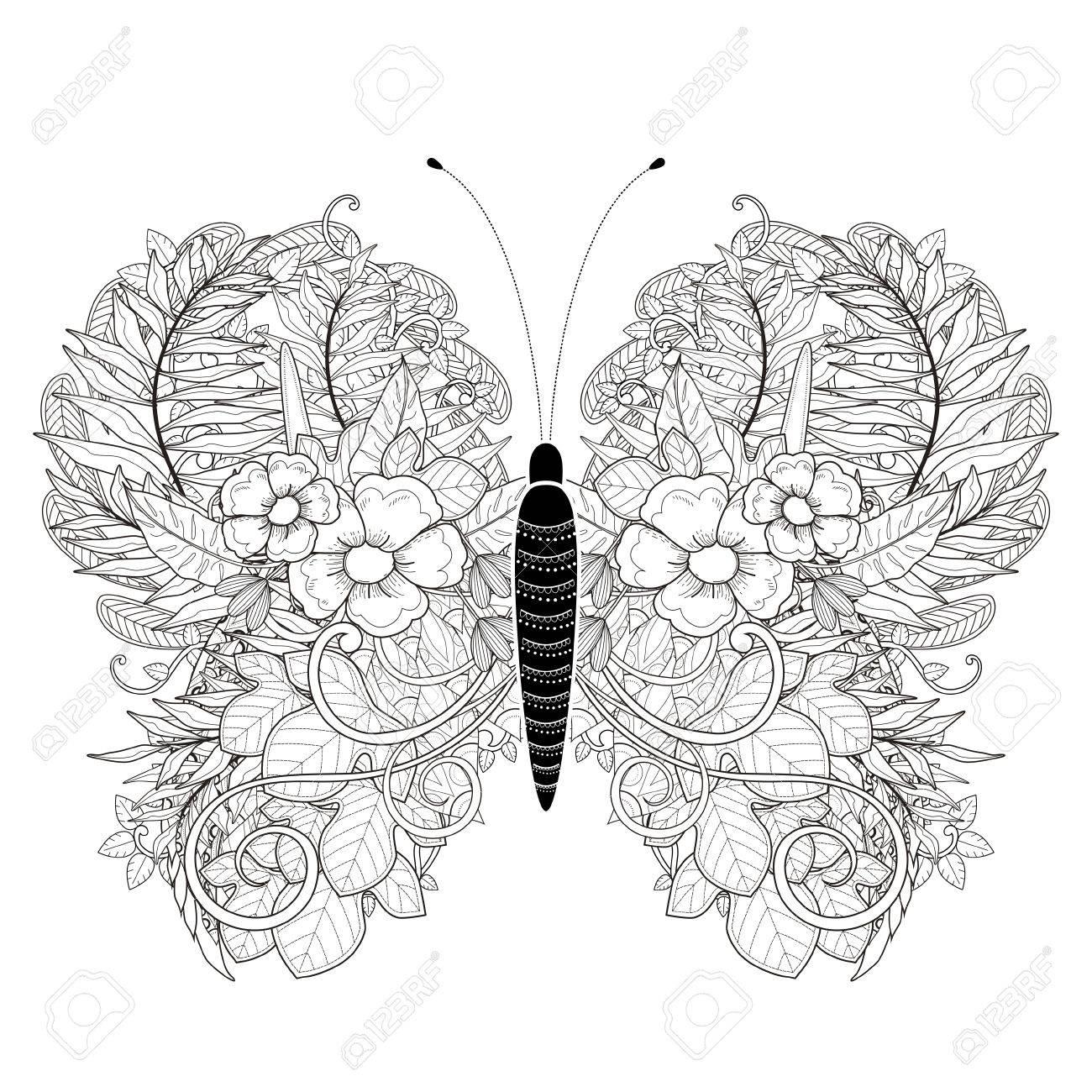 Schön Süße Schmetterling Färbung Seite Ideen - Malvorlagen-Ideen ...