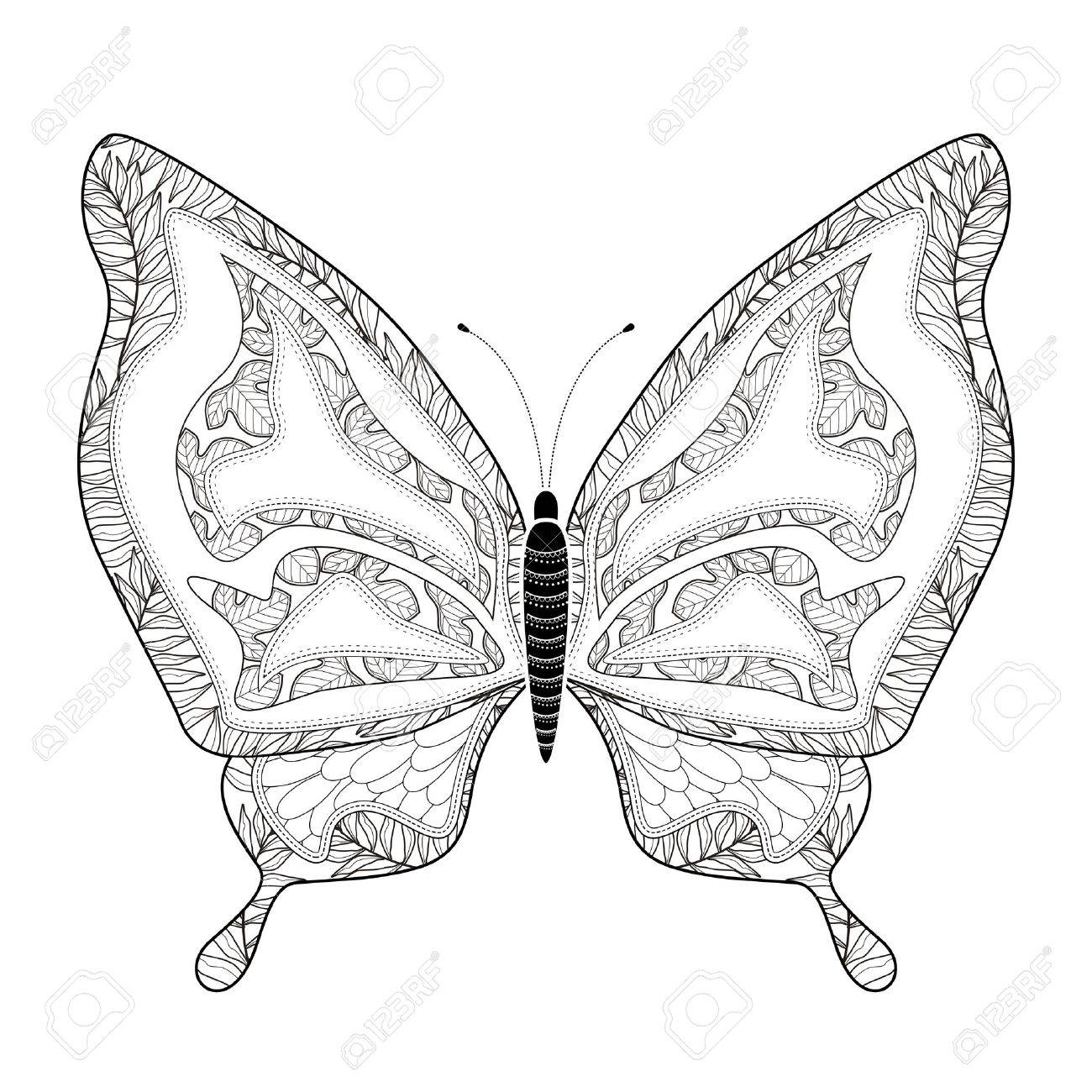 Fantastisch Schmetterling Farbung Seite Bilder - Malvorlagen Von ...