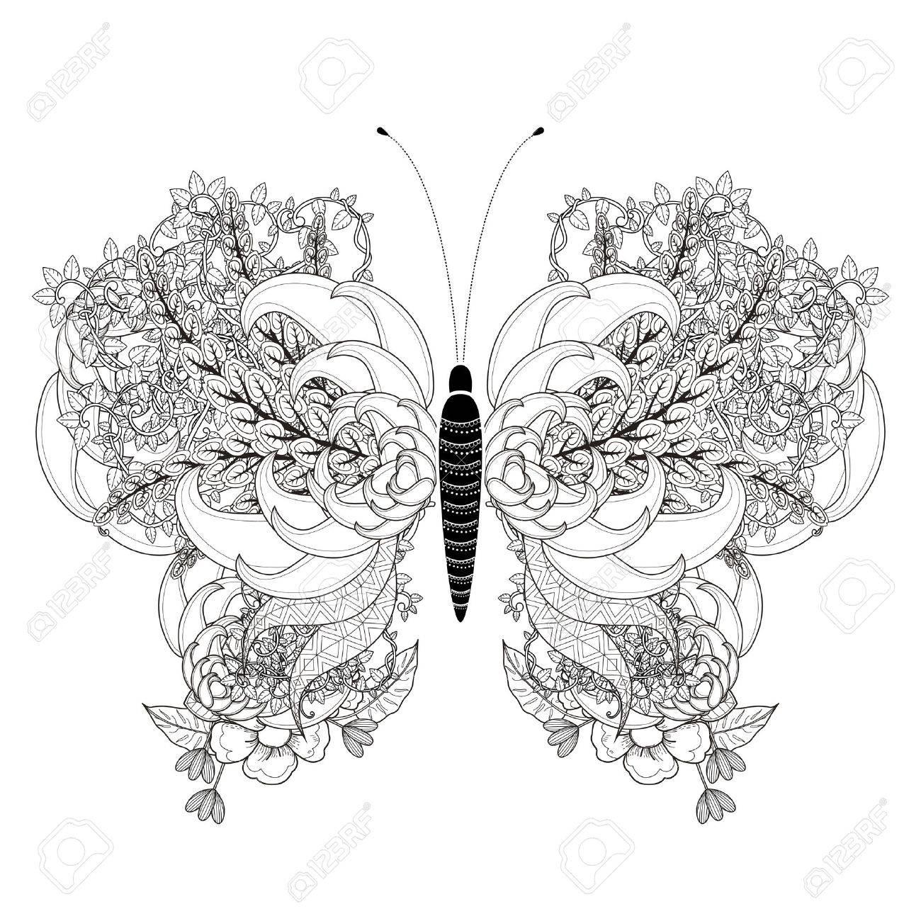 Gemütlich Schmetterlinge Färbung Seite Bilder - Malvorlagen Von ...