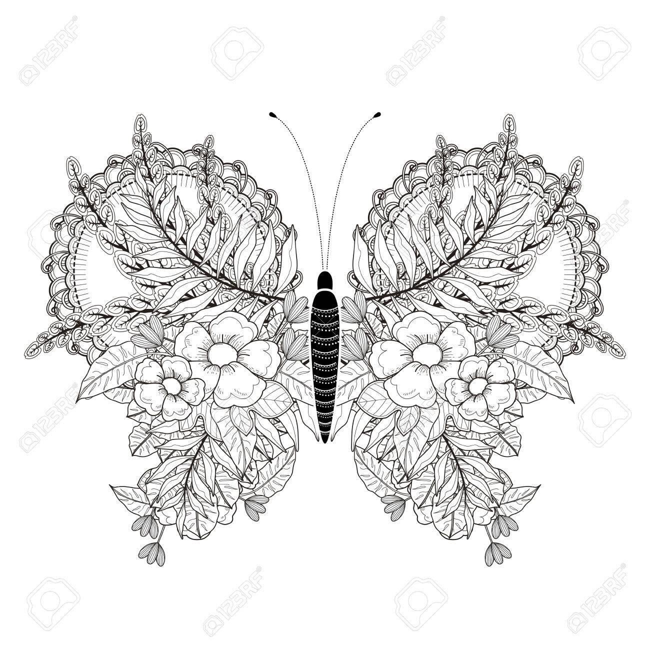 Erfreut Frühling Schmetterlinge Färbung Seiten Fotos - Entry Level ...
