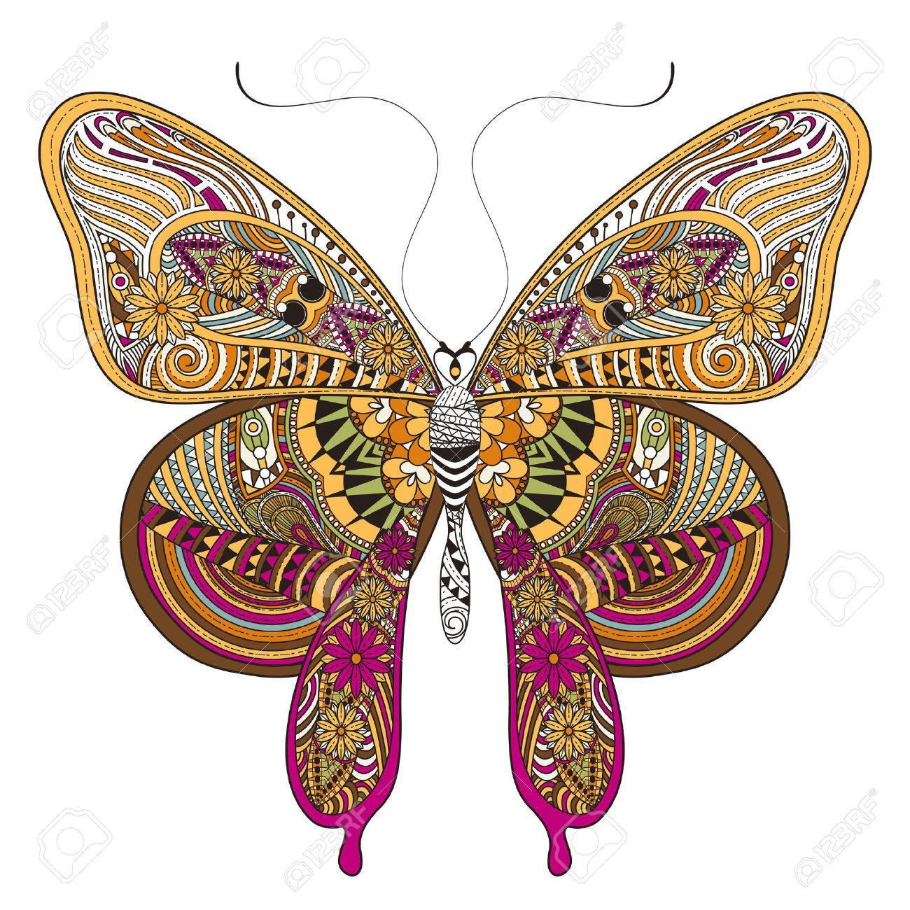 Gemütlich Einfache Schmetterling Färbung Seite Ideen ...