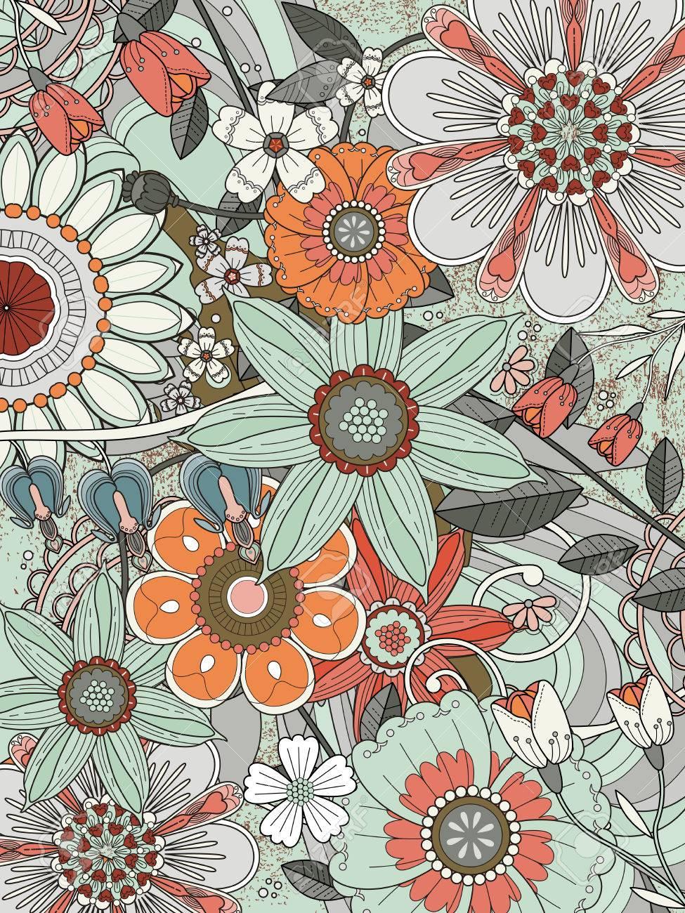 Excepcional Primavera Imprimible Colorear Páginas Jardín De La ...