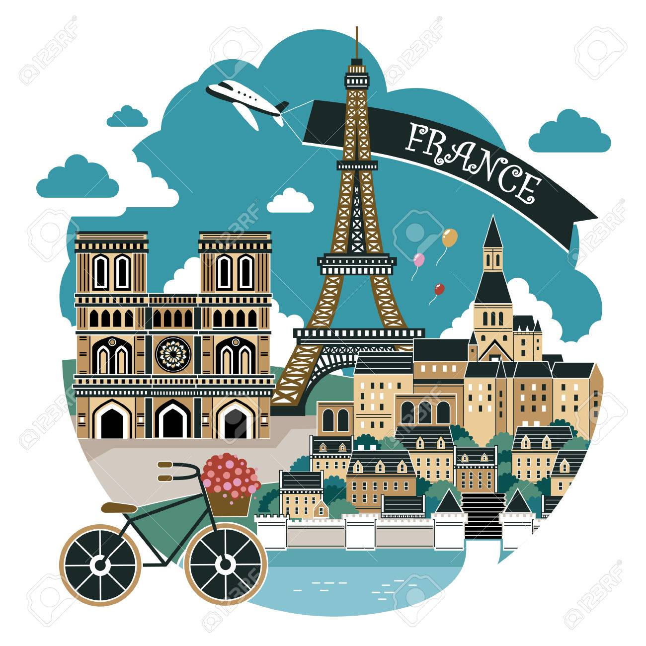 Beautiful Famous Places In France