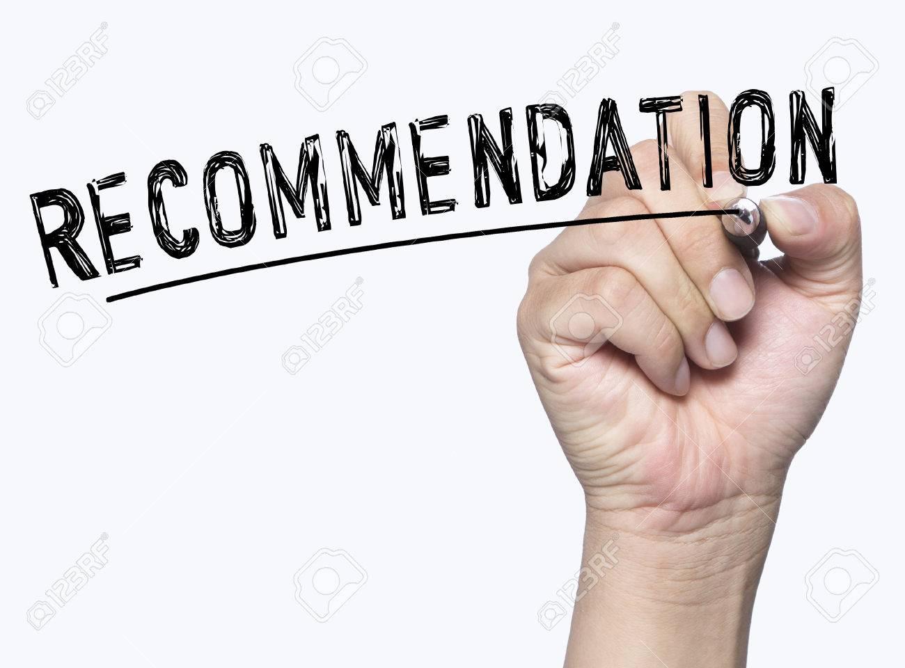 recomendtion
