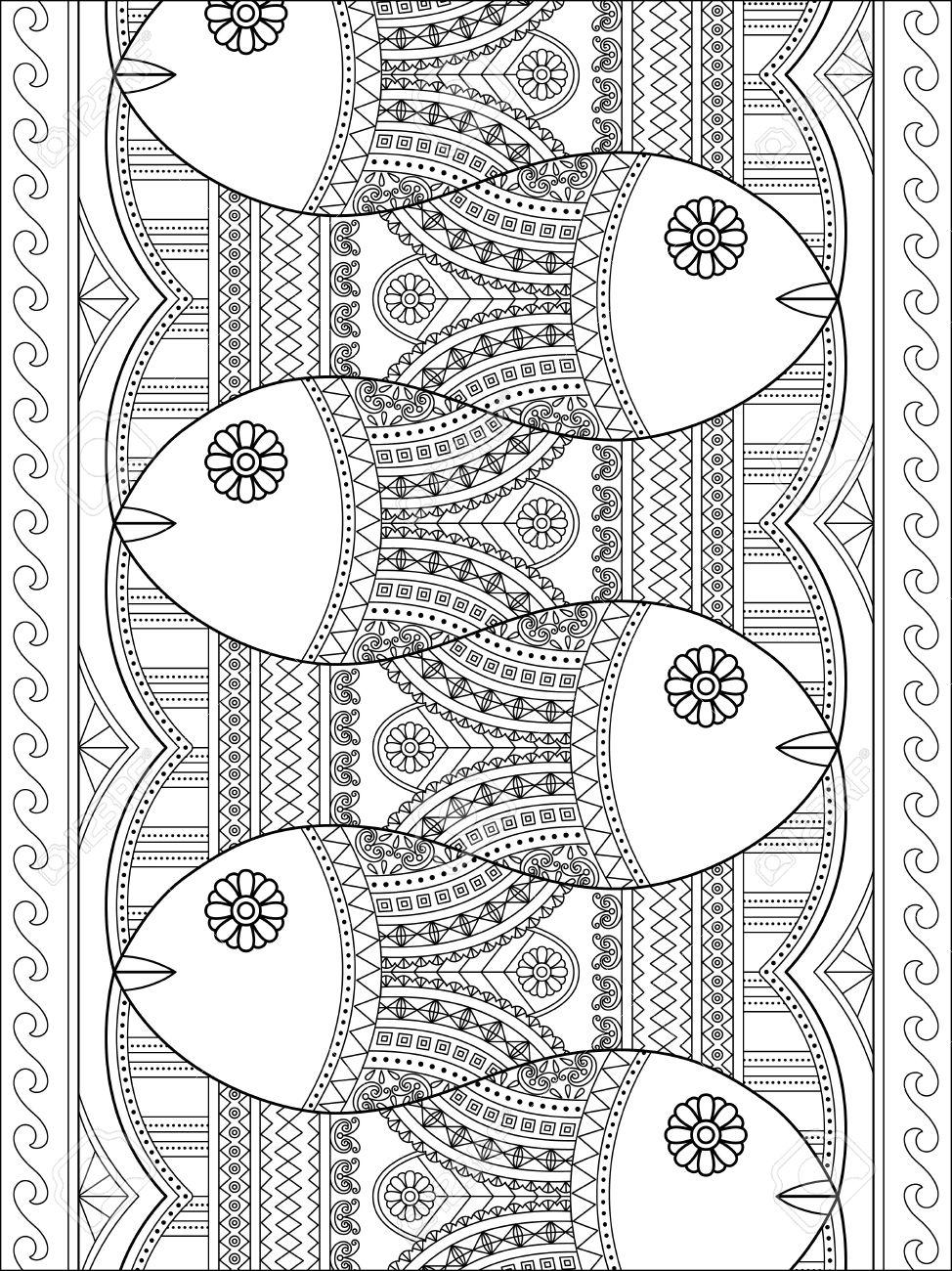 Gemütlich Malvorlagen Geometrische Muster Ideen - Beispiel ...