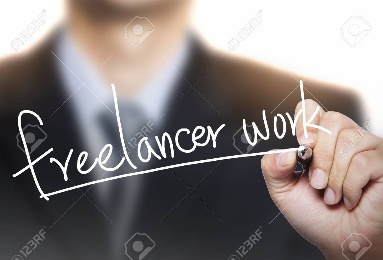 lance work written by hand hand writing on transparent board stock photo lance work written by hand hand writing on transparent board photo