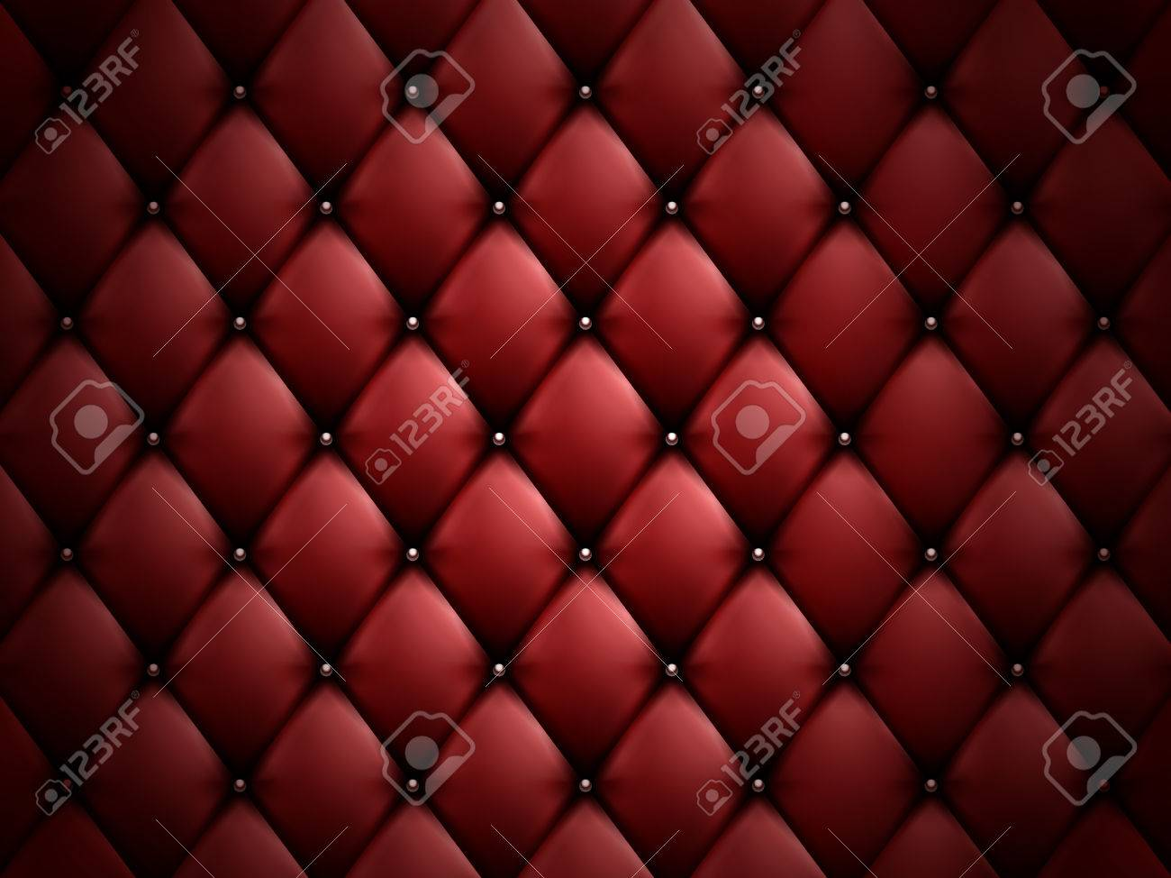 Dark Red Sofa Background Able For Design Uses 3d Illustration