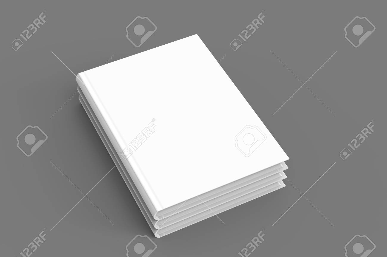 hardcover books template stack of blank books mockup for design
