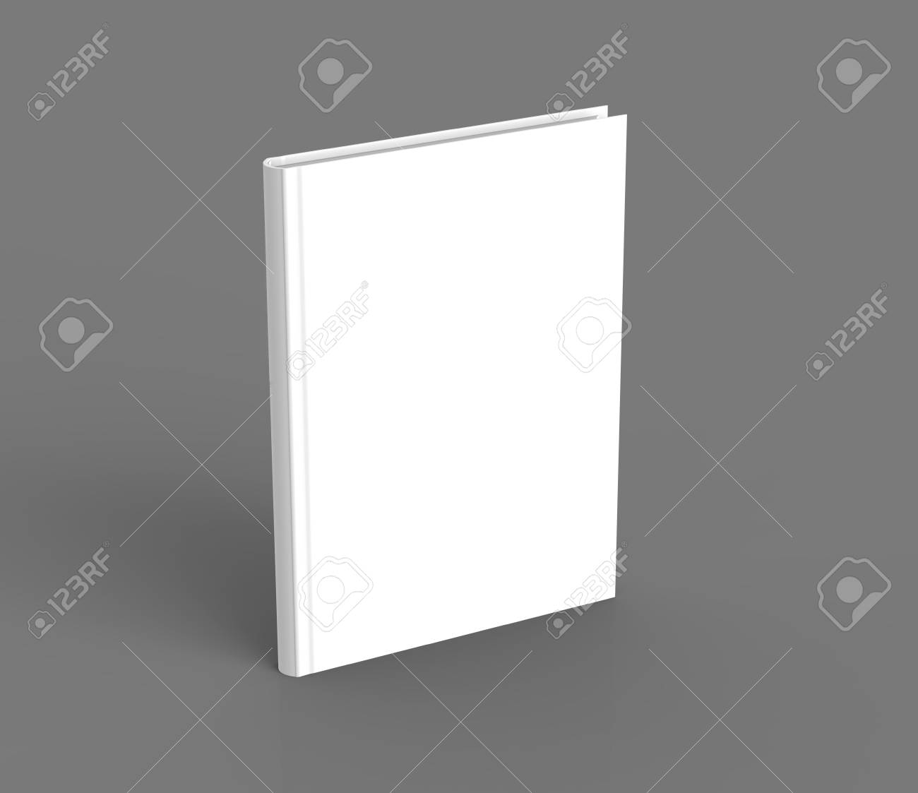 hardcover book template blank standing book mockup for design
