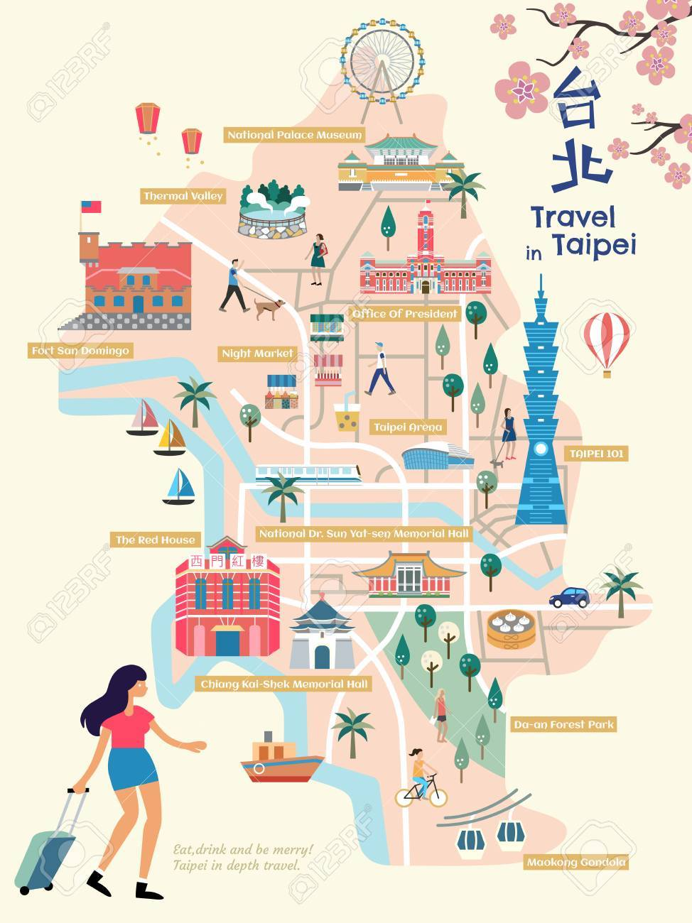 Image result for taipei map