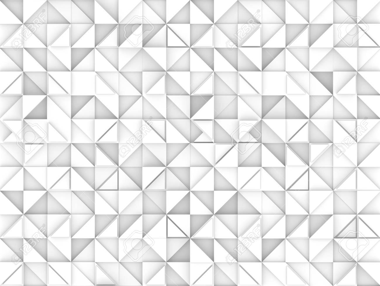 Fond De Triangle Geometrique Fond D Ecran De Rendu De Rendu Blanc 3d Pour Des Usages De Conception Banque D Images Et Photos Libres De Droits Image 94312470