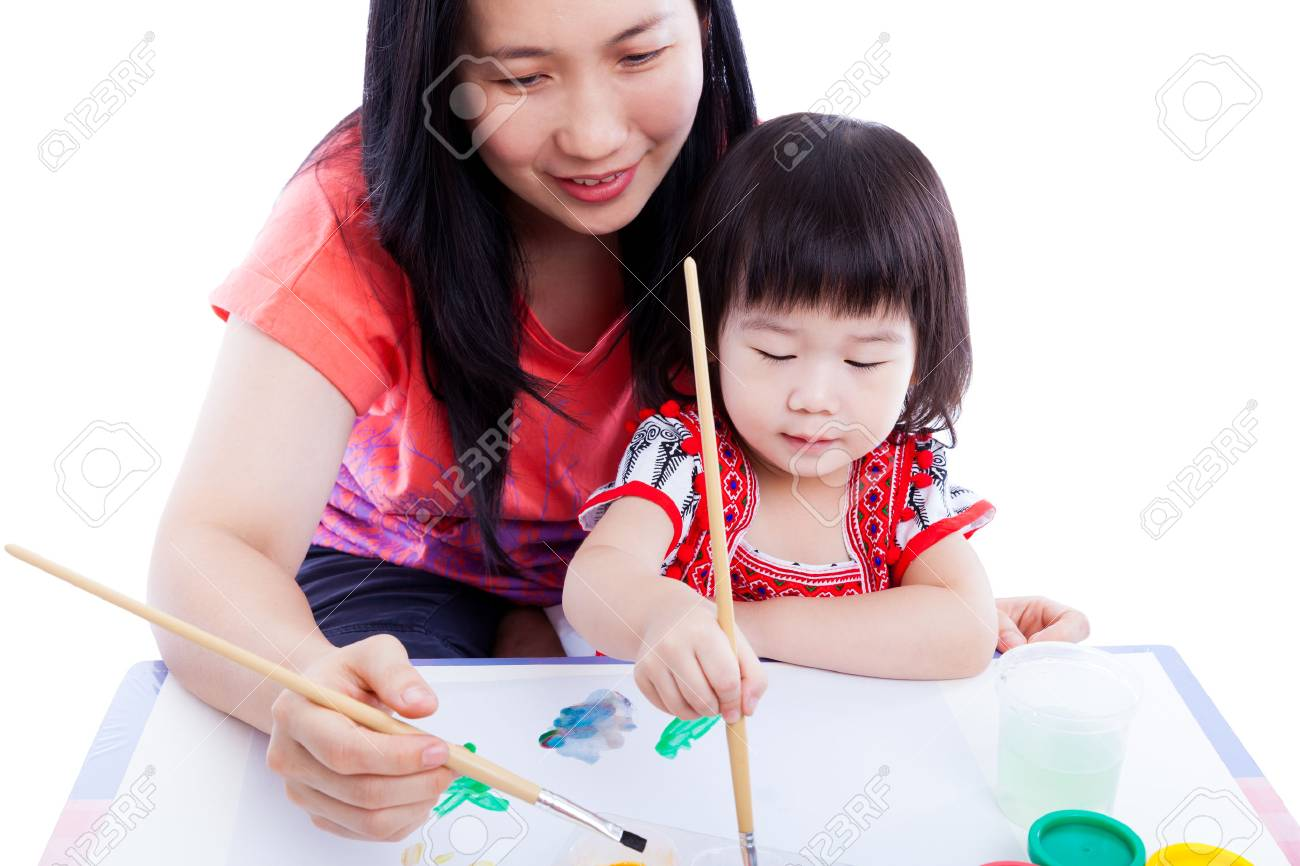 Asian Mom Teach
