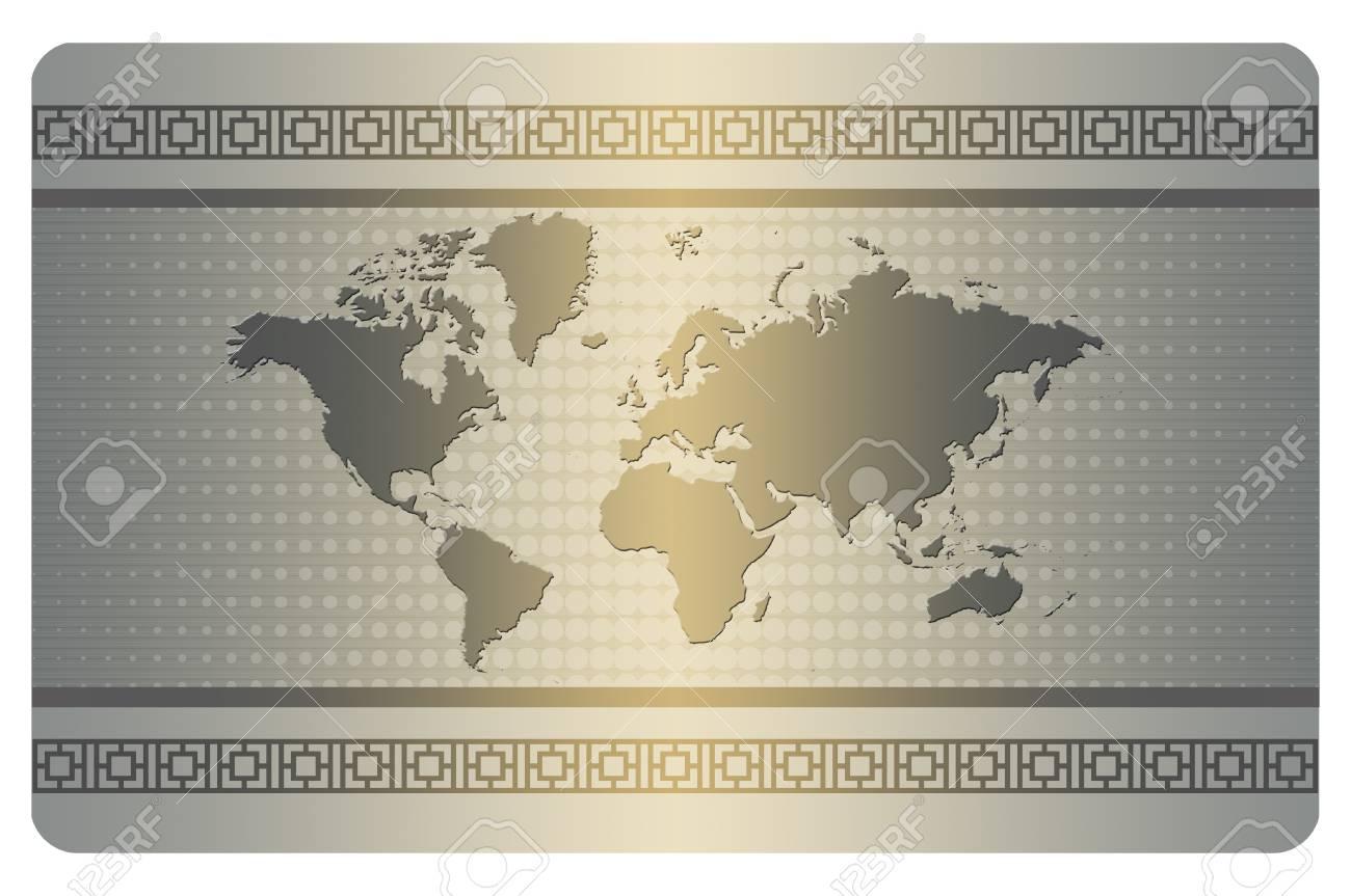 Modle De Carte Visite Avec Du Monde Et Les Modles Demi