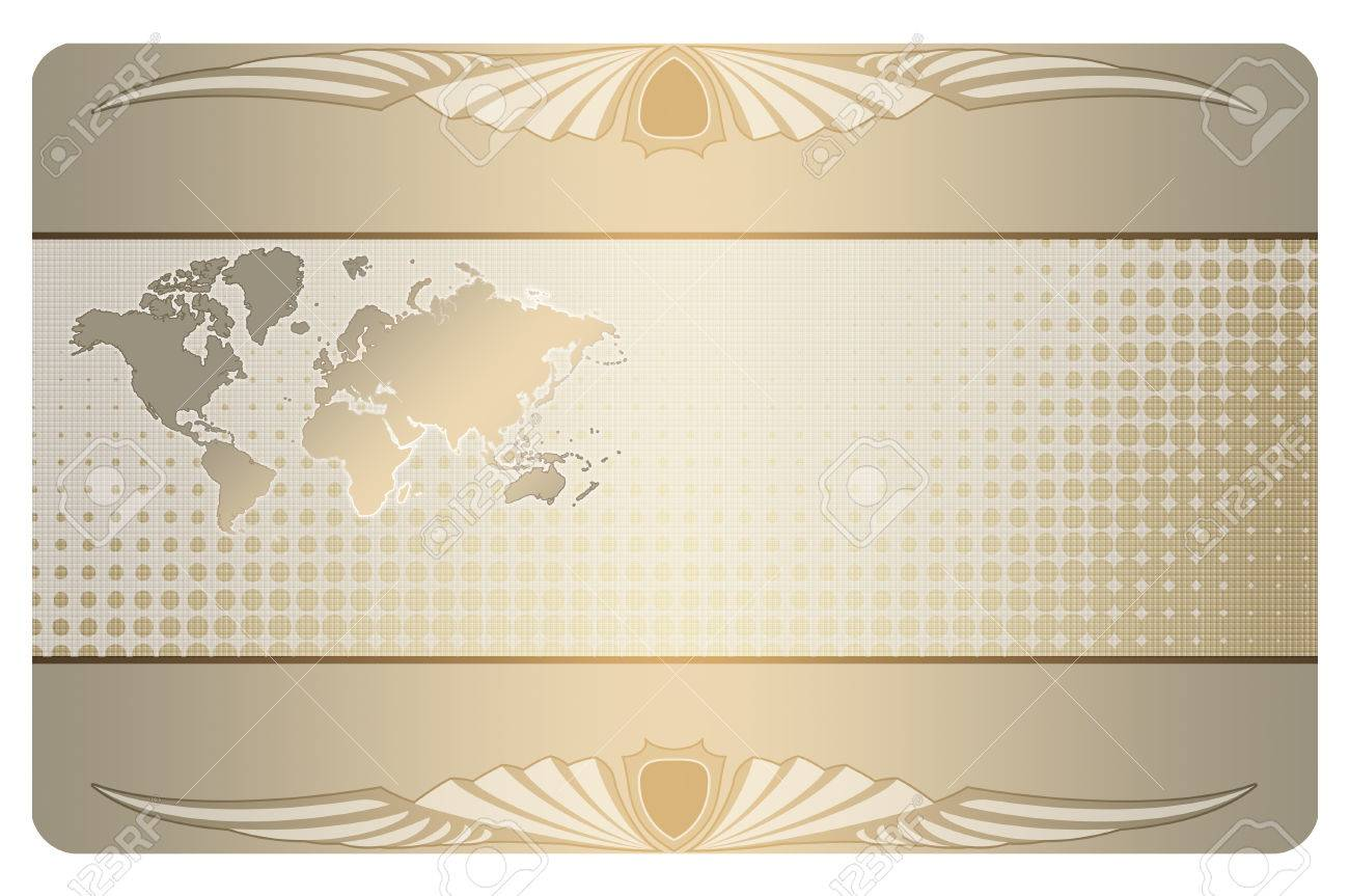 Abstract background with world map and abstract patterns business abstract background with world map and abstract patterns business card design stock photo colourmoves