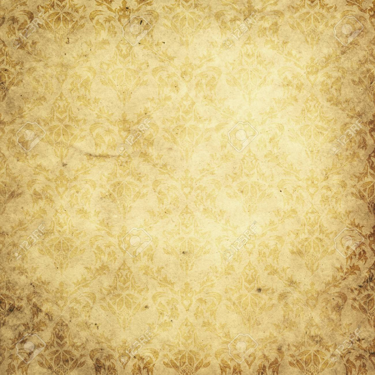 aged and yellowed paper background. vintage paper texture for