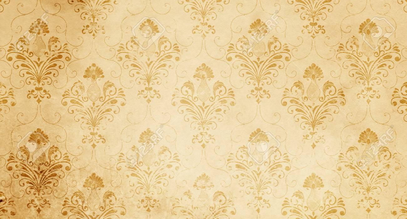 Vintage Floral Paper Texture For The Design Vintage Wallpaper