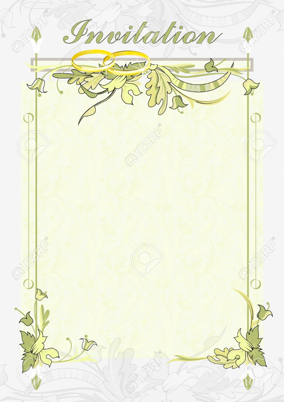 The best wedding invitations for you: Wedding card invitation background