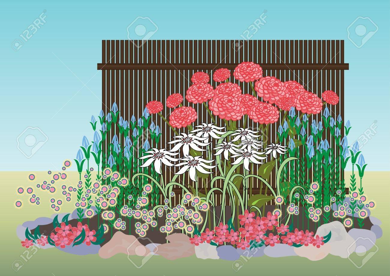 Exemple De Creation D Un Parterre De Fleurs Parterre De Fleurs