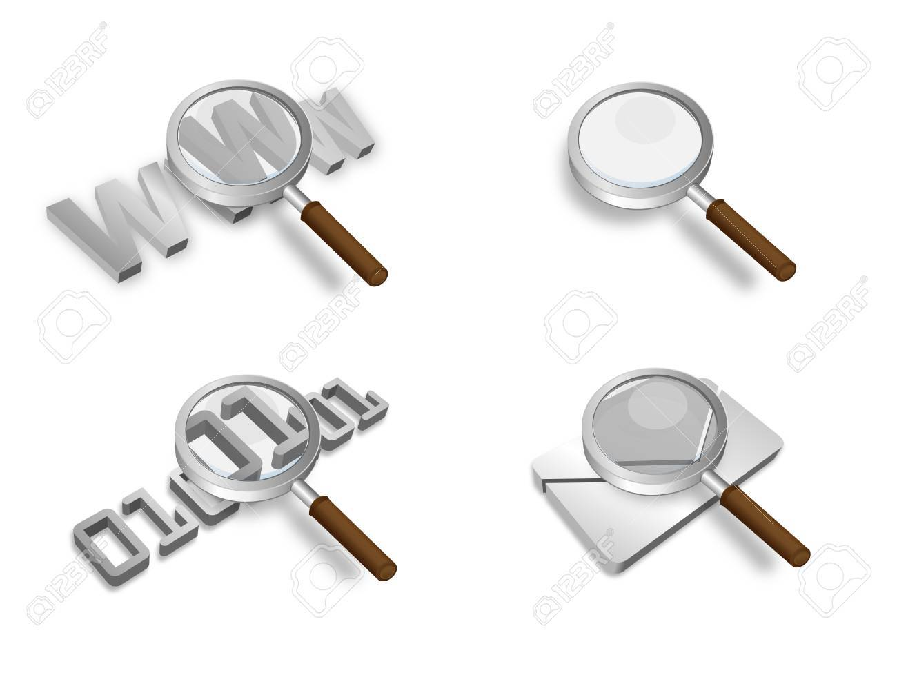 search 3D Stock Vector - 17593733