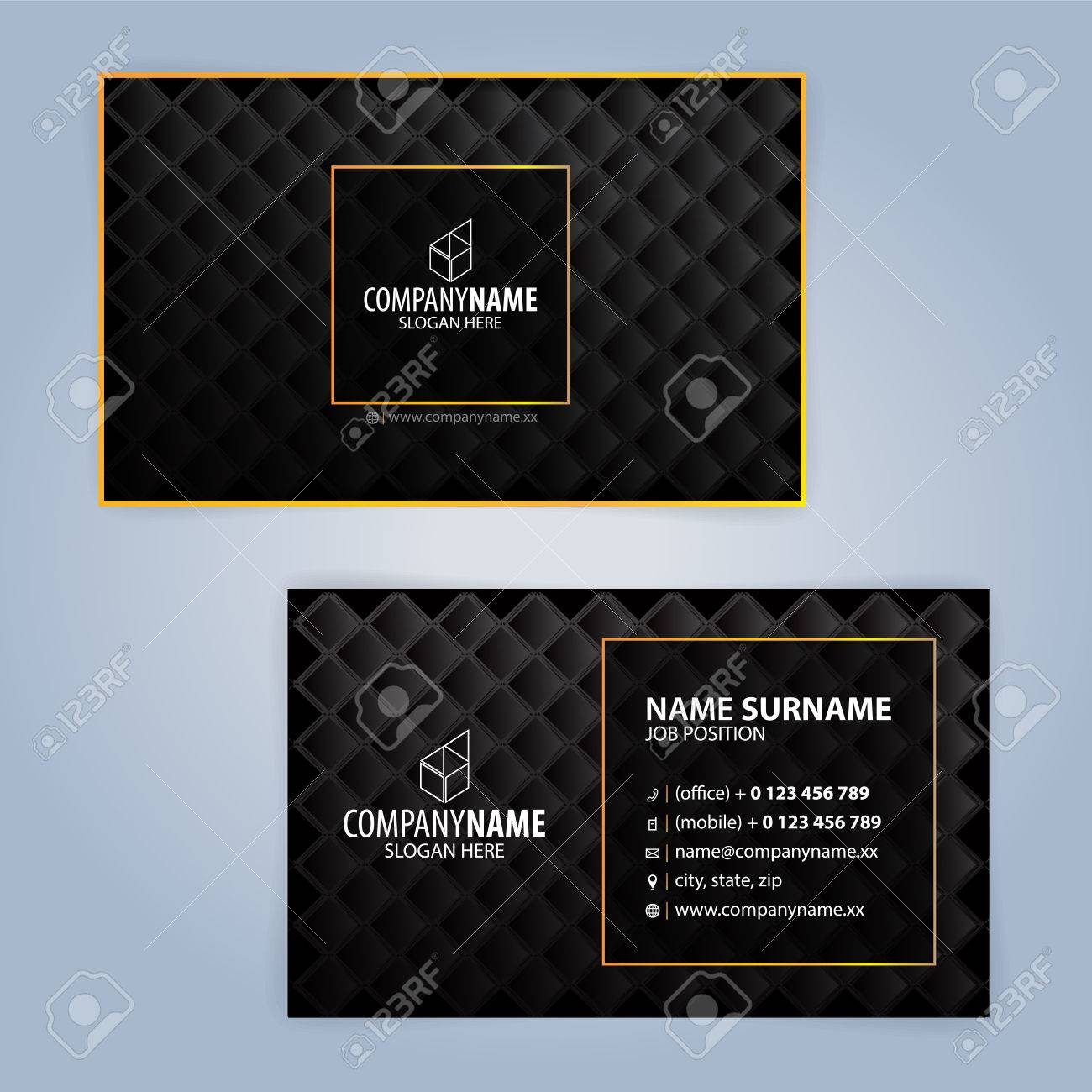 Business card design templates luxury graphic design royalty free banco de imagens business card design templates luxury graphic design reheart Image collections