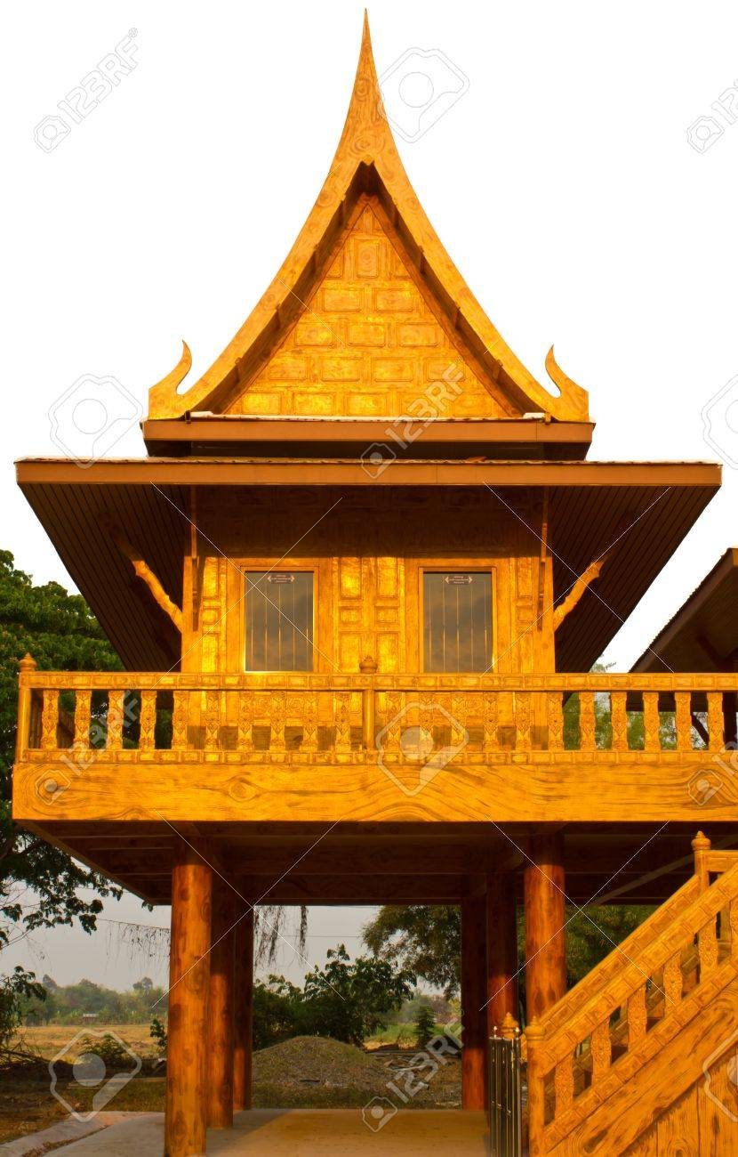 House thai style is like [ model ] The tall. Stock Photo - 11044936
