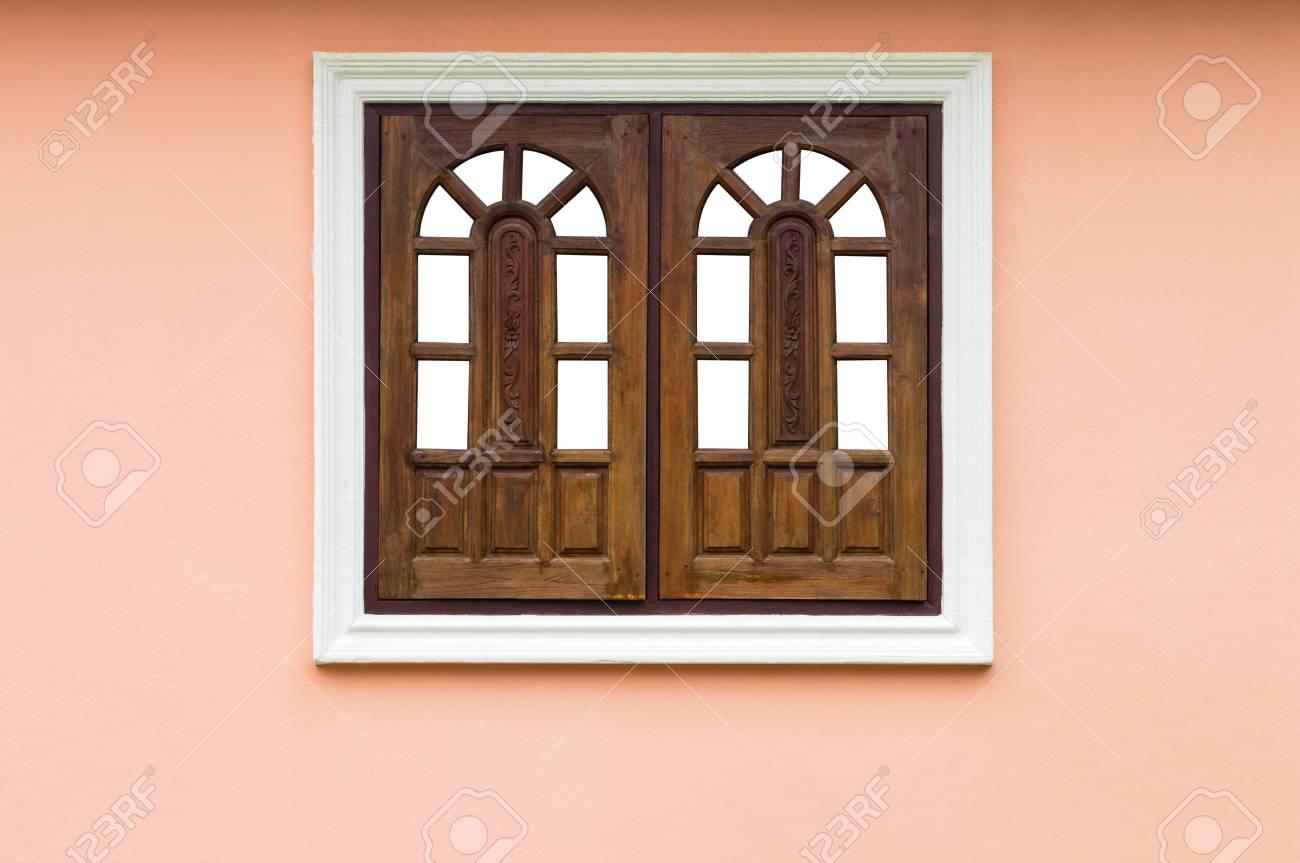 Schließen Sie Herauf Bild Alter Hölzerner Fensterhintergrund Im ...