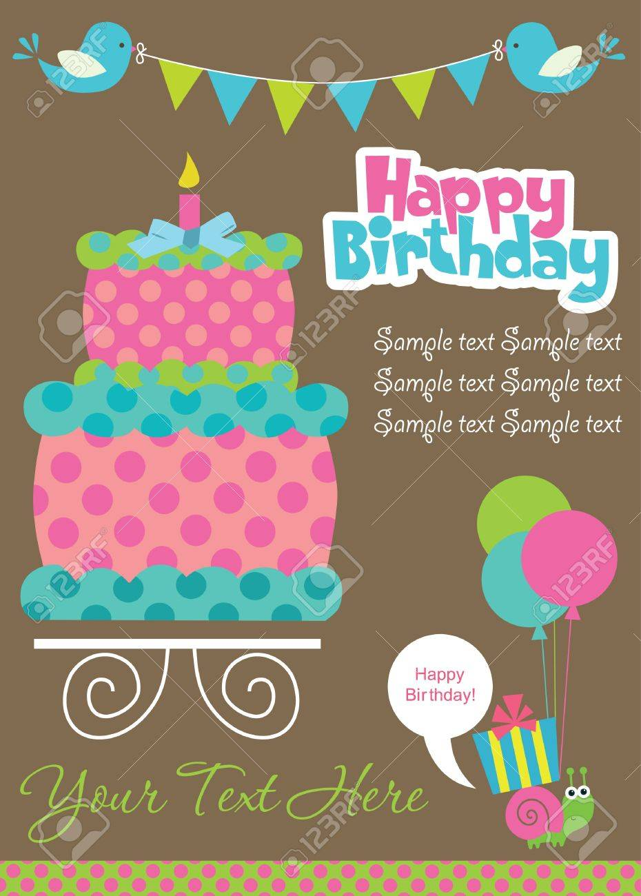Birthday Cake And Card Pic Birthday Inspiring Birthday Cakes Ideas – Happy Birthday Cake Greetings