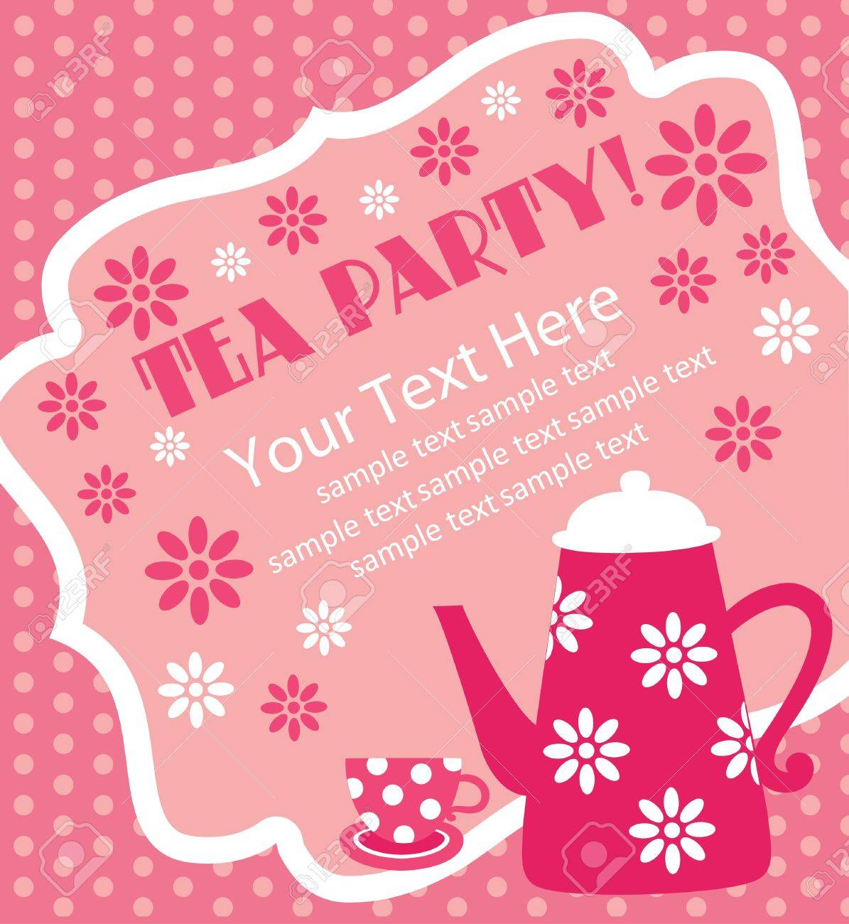 Tea party background royalty free stock photo image 28839215 - Jpg 1195x1300 Tea Party Background