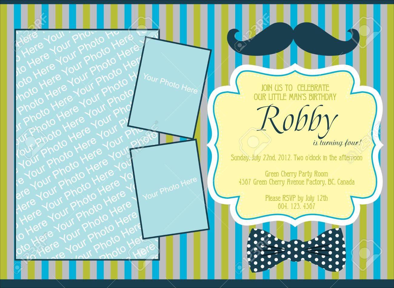birthday invitation card designs for kids