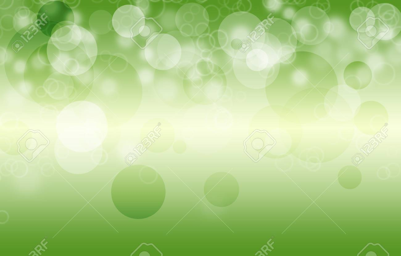 Green Abstract Light Gradient Color Background