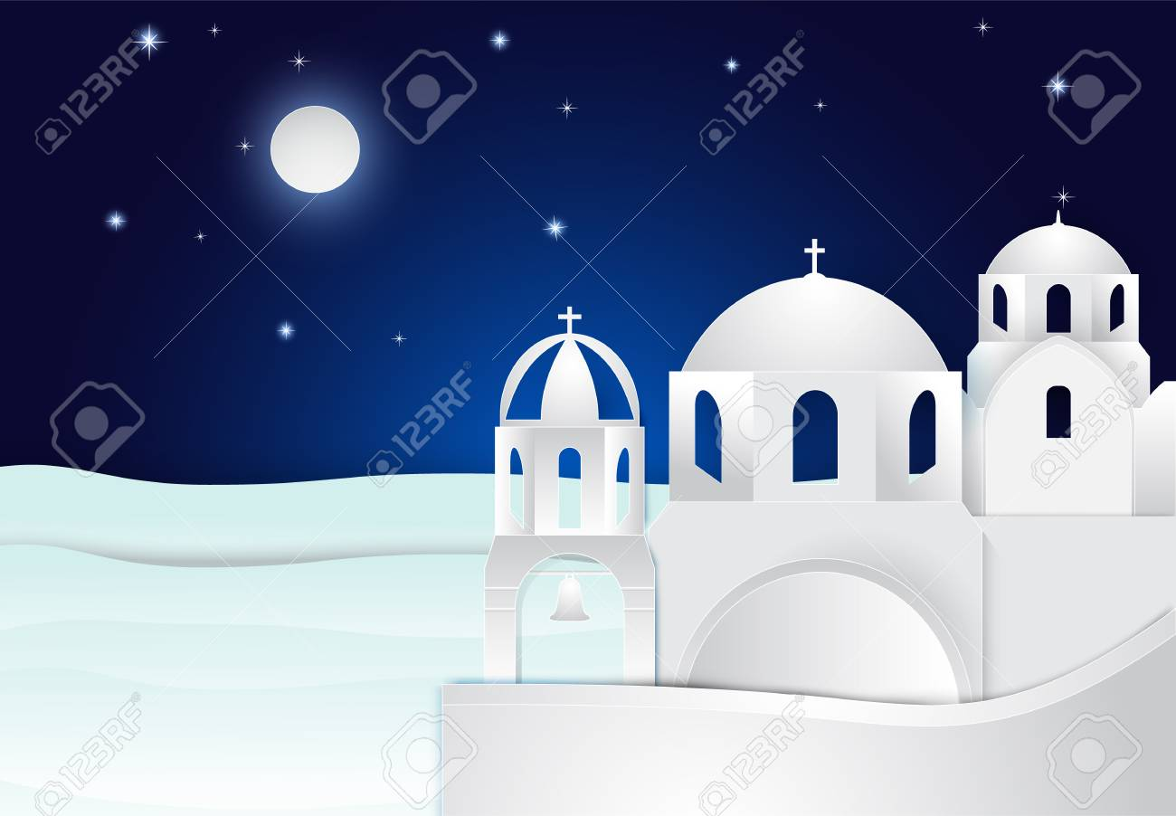 Vector Clipart - Background for ramadan kareem. night landscape. muslim  religion holy month. arab stands with a camel in the desert. the starry sky.  bright moon. vector illustration. Vector Illustration gg103555234 - GoGraph