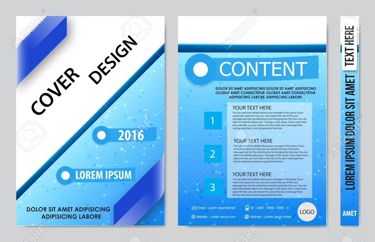 Titelbuchpräsentation Bericht Design-Vorlage Hintergrund Lizenzfrei ...